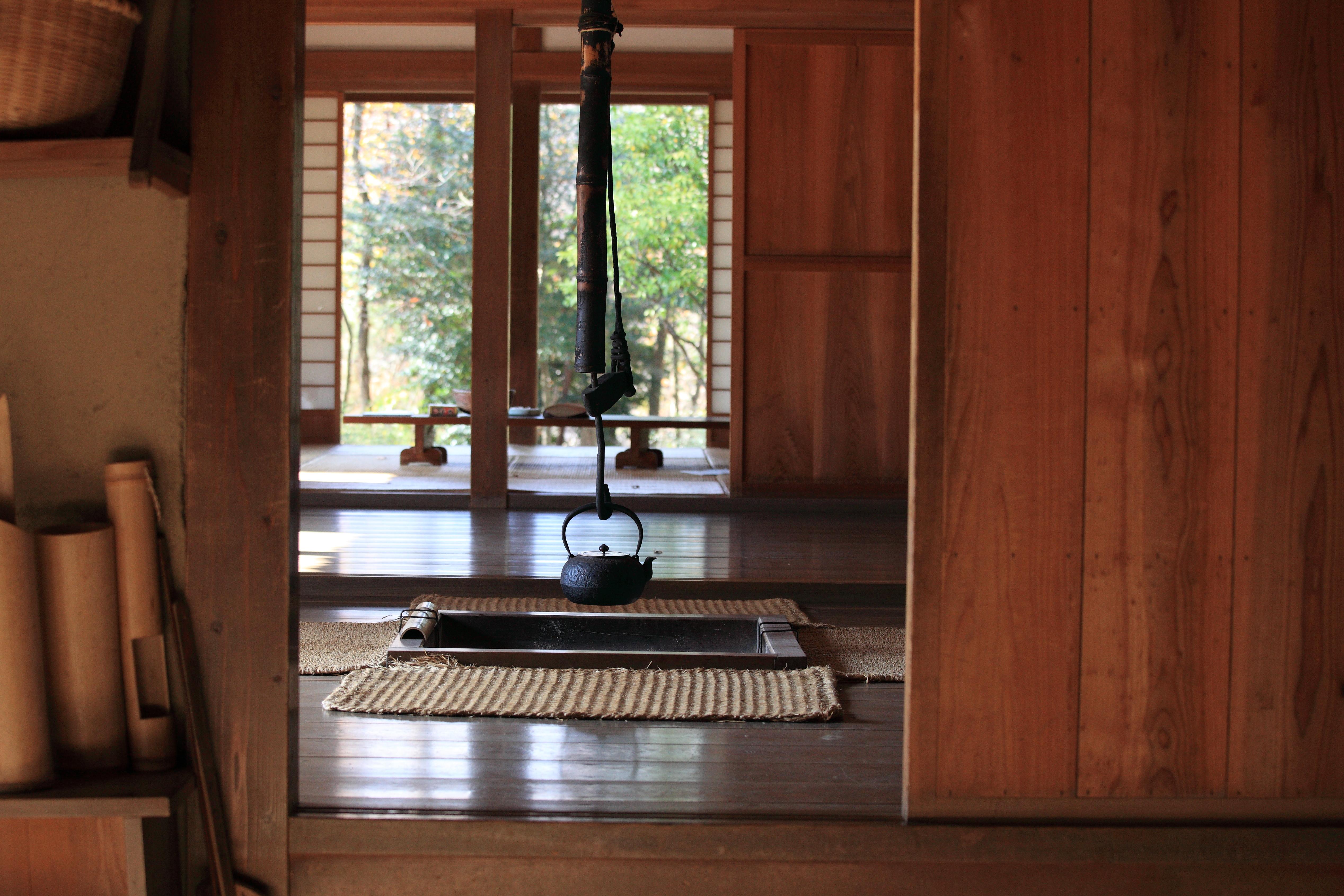 Gambar Arsitektur Tanah Pertanian Rumah Lantai Pedalaman