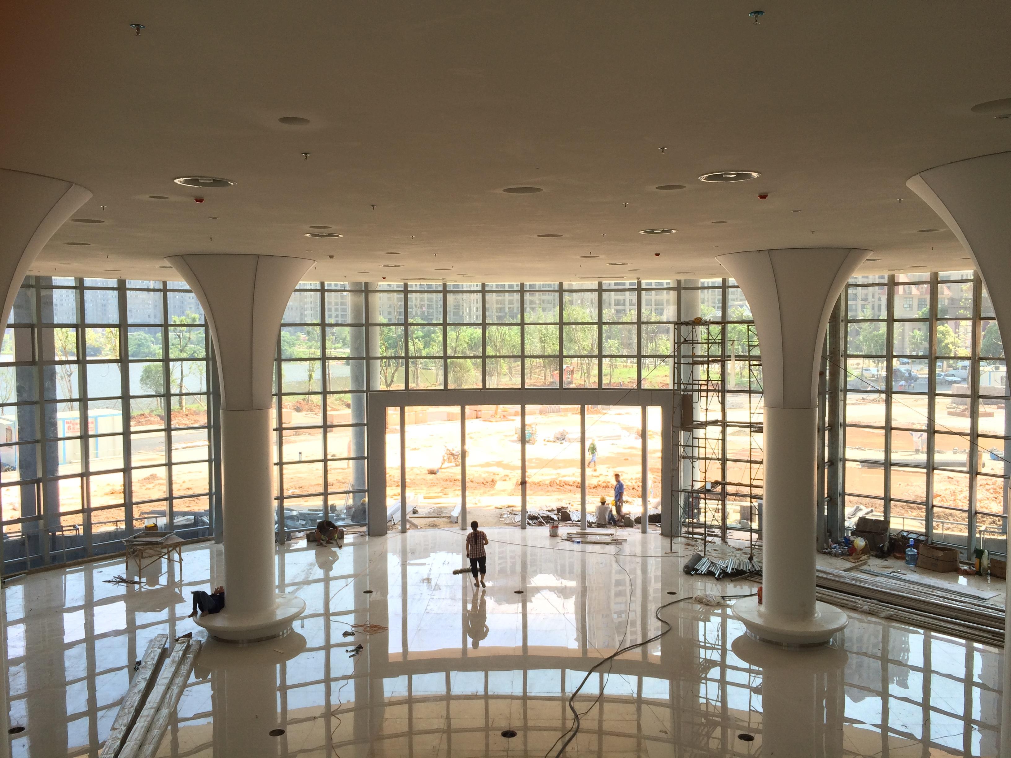 Transom Windows A Useful Design Element: Great Hout Verdieping Venster Glas Plafond Bouw Binnen