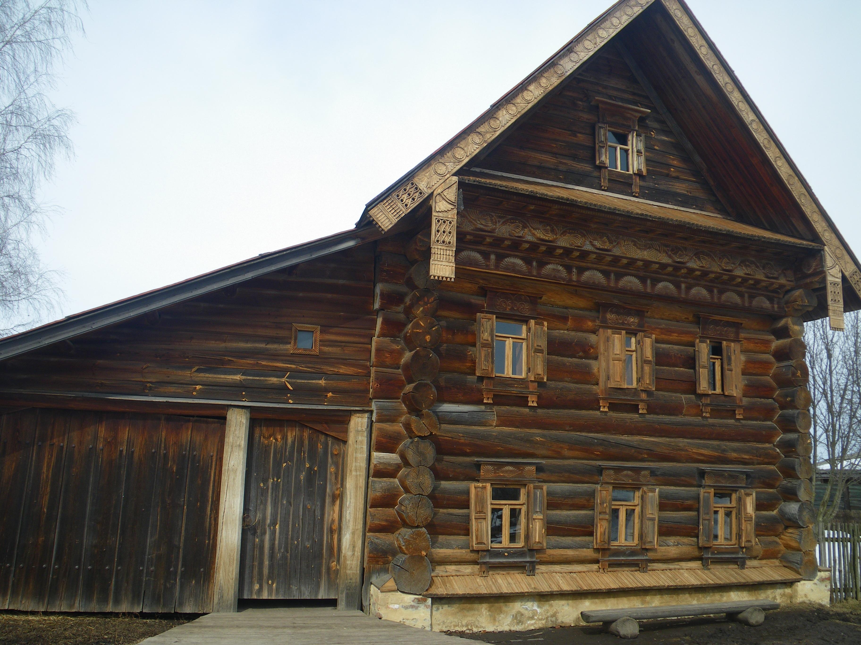 овчинникова картинки старых бревенчатых домов этом рецепте