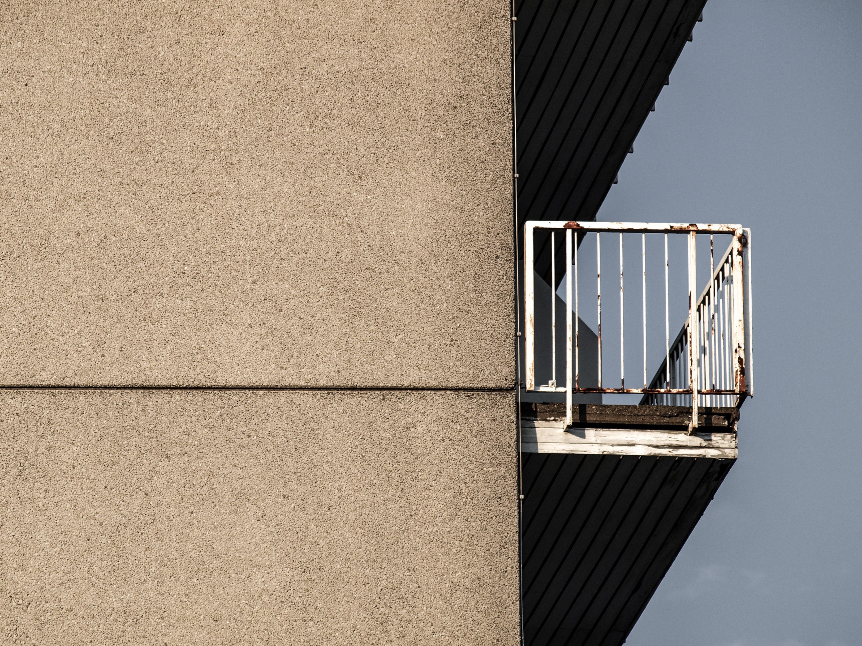 wood house building skyscraper wall balcony line facade concrete interior design design trist prefab mietkaserne