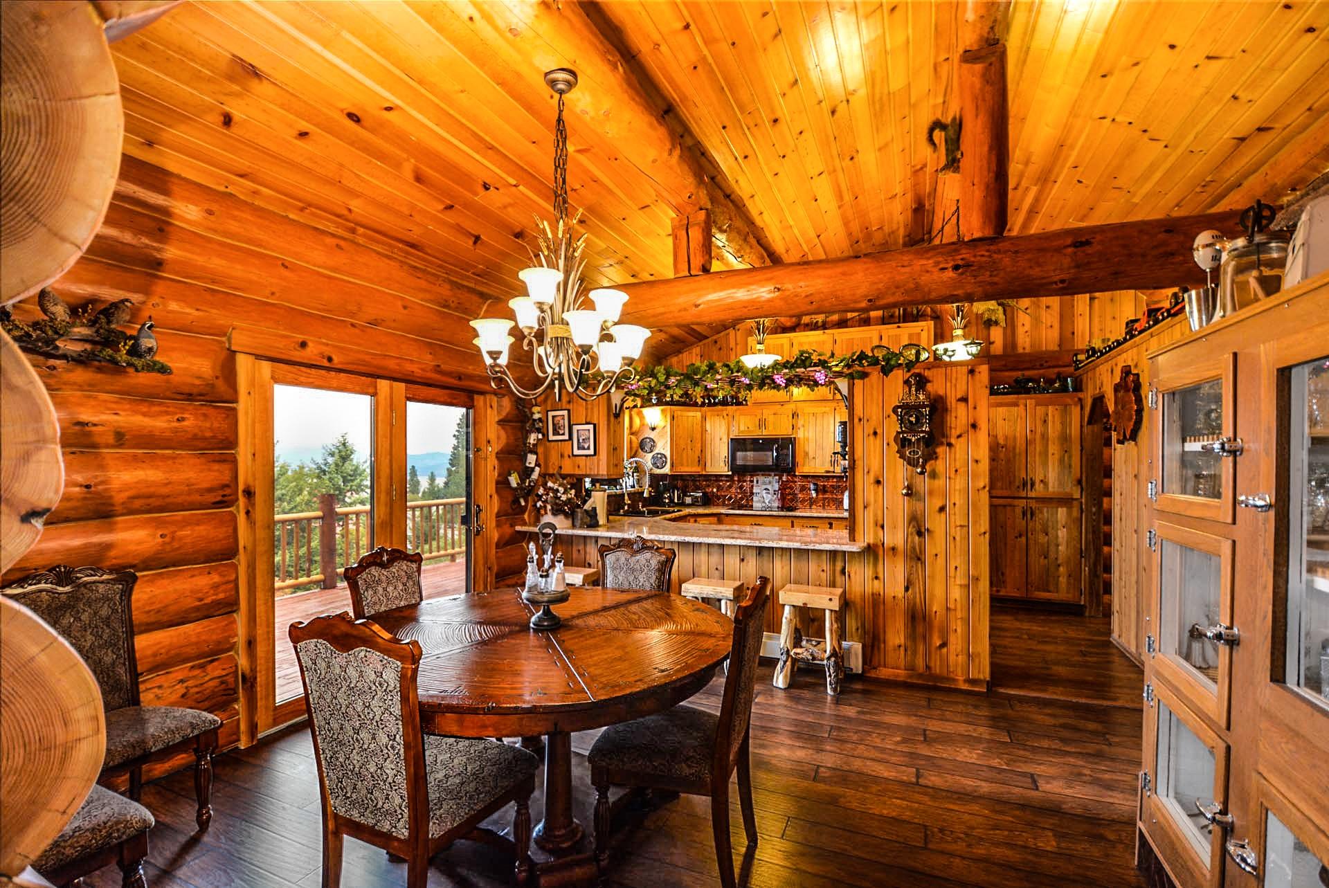 Images gratuites architecture bois maison int rieur rustique rural b che cabine chalet for Maison interieur