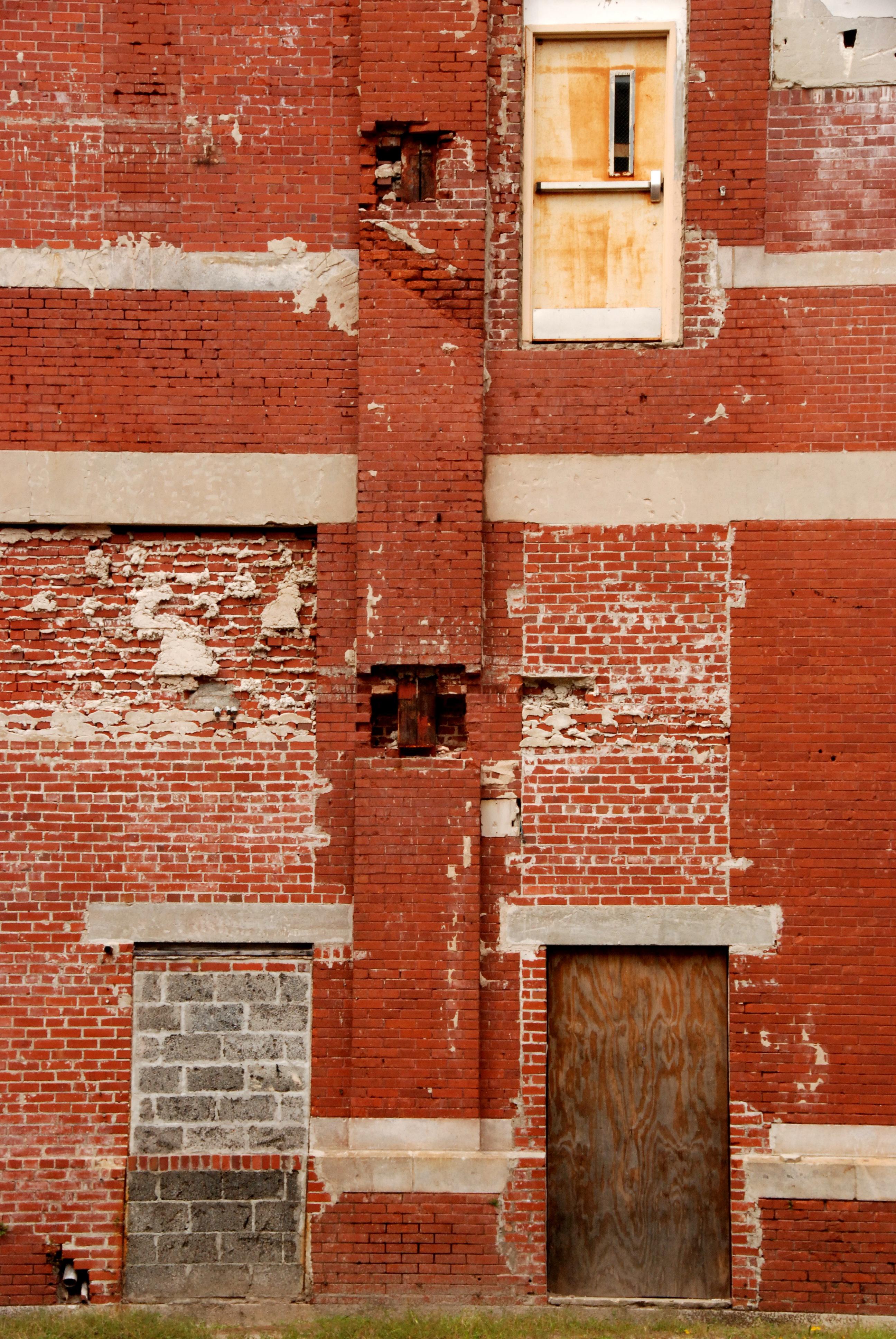 Fantastisch Die Architektur Holz Haus Textur Fenster Mauer Rot Farbe Fassade Ziegel Tür  Material Mauerwerk Stadtgebiet