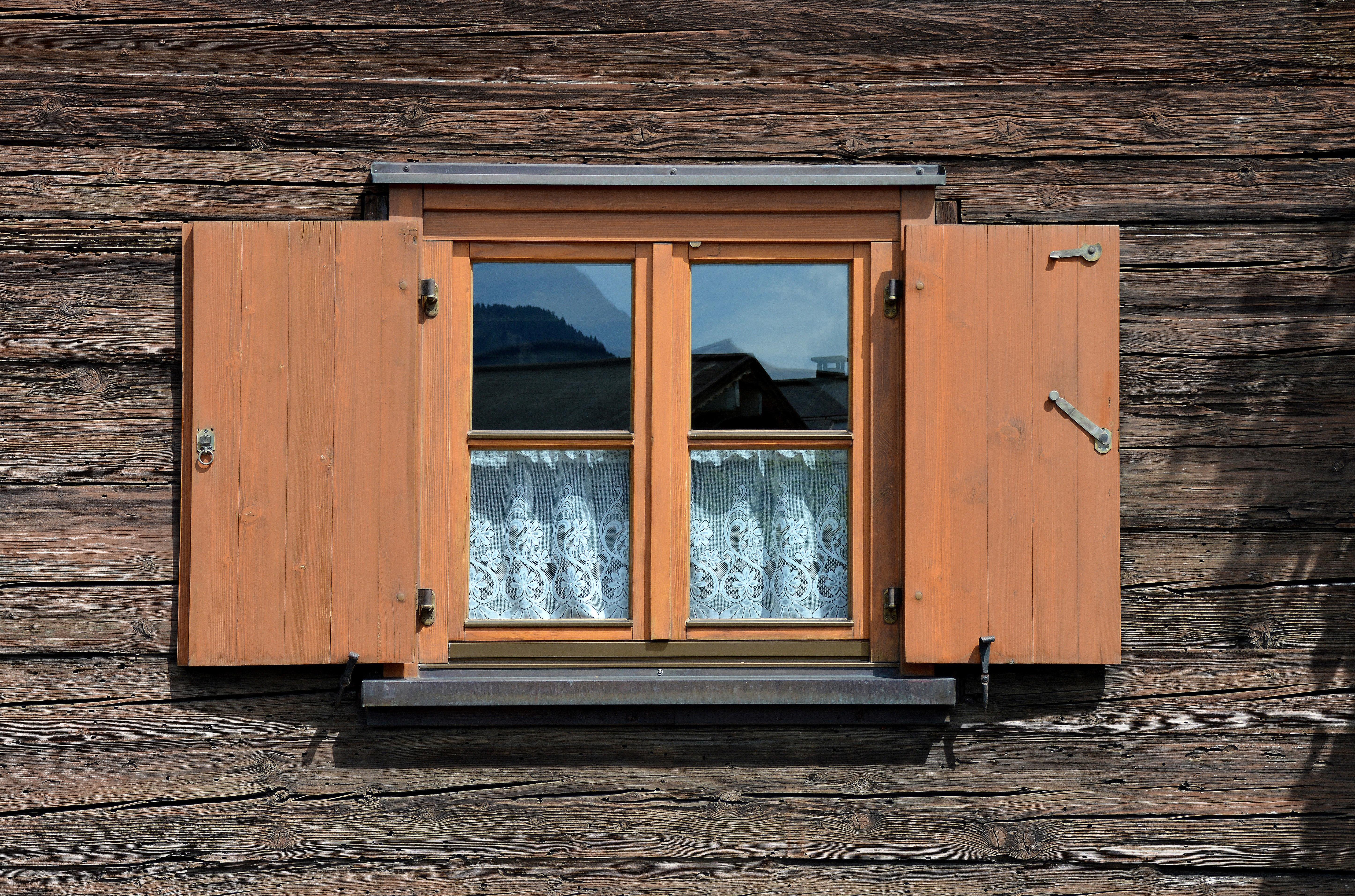 Kostenlose Foto Die Architektur Holz Haus Fenster Atmosphare