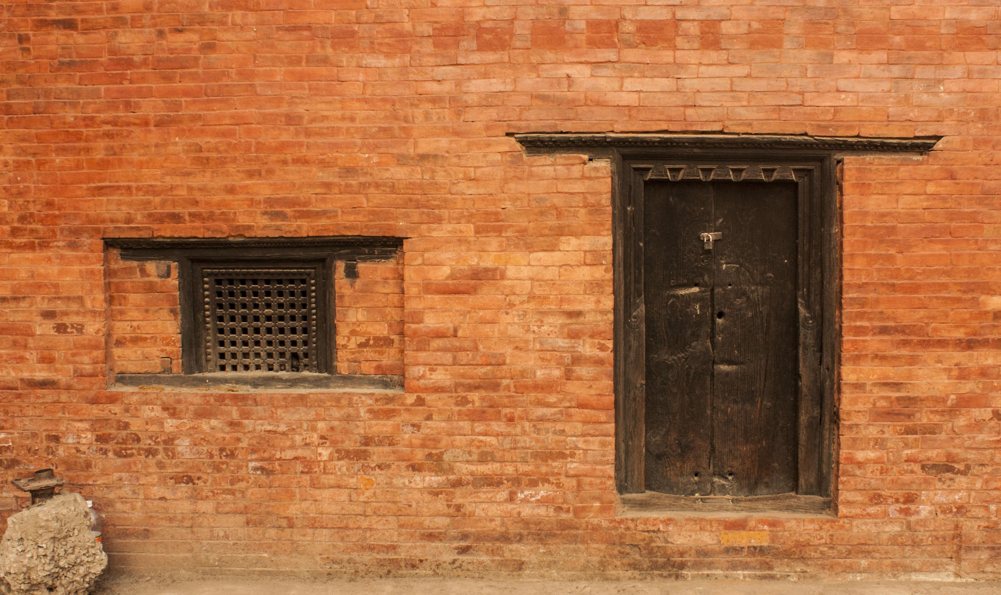 Wooden House Door Photo Album Handle Idea