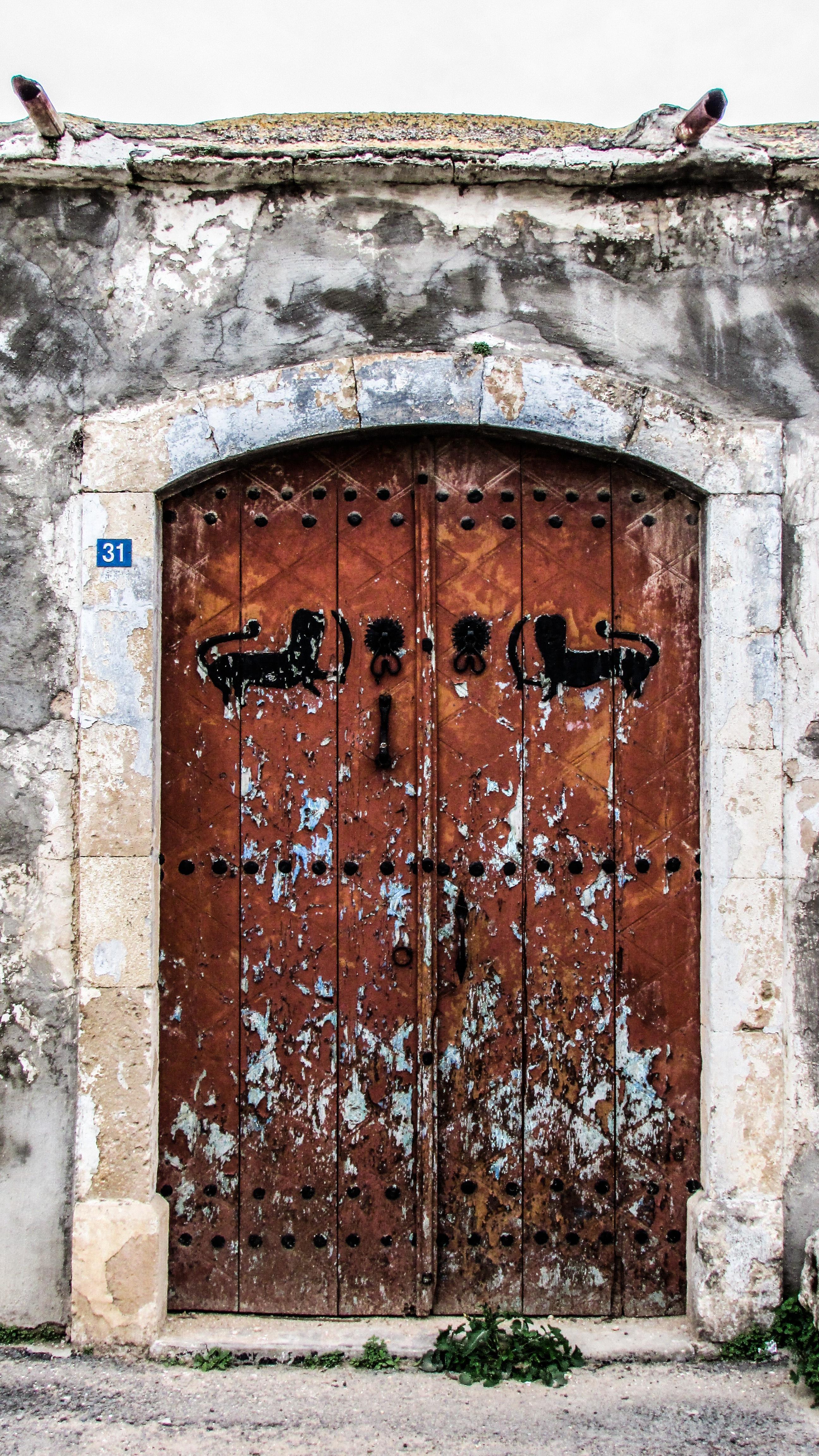 Fotos gratis arquitectura ventana pueblo pared arco for Puerta casa antigua
