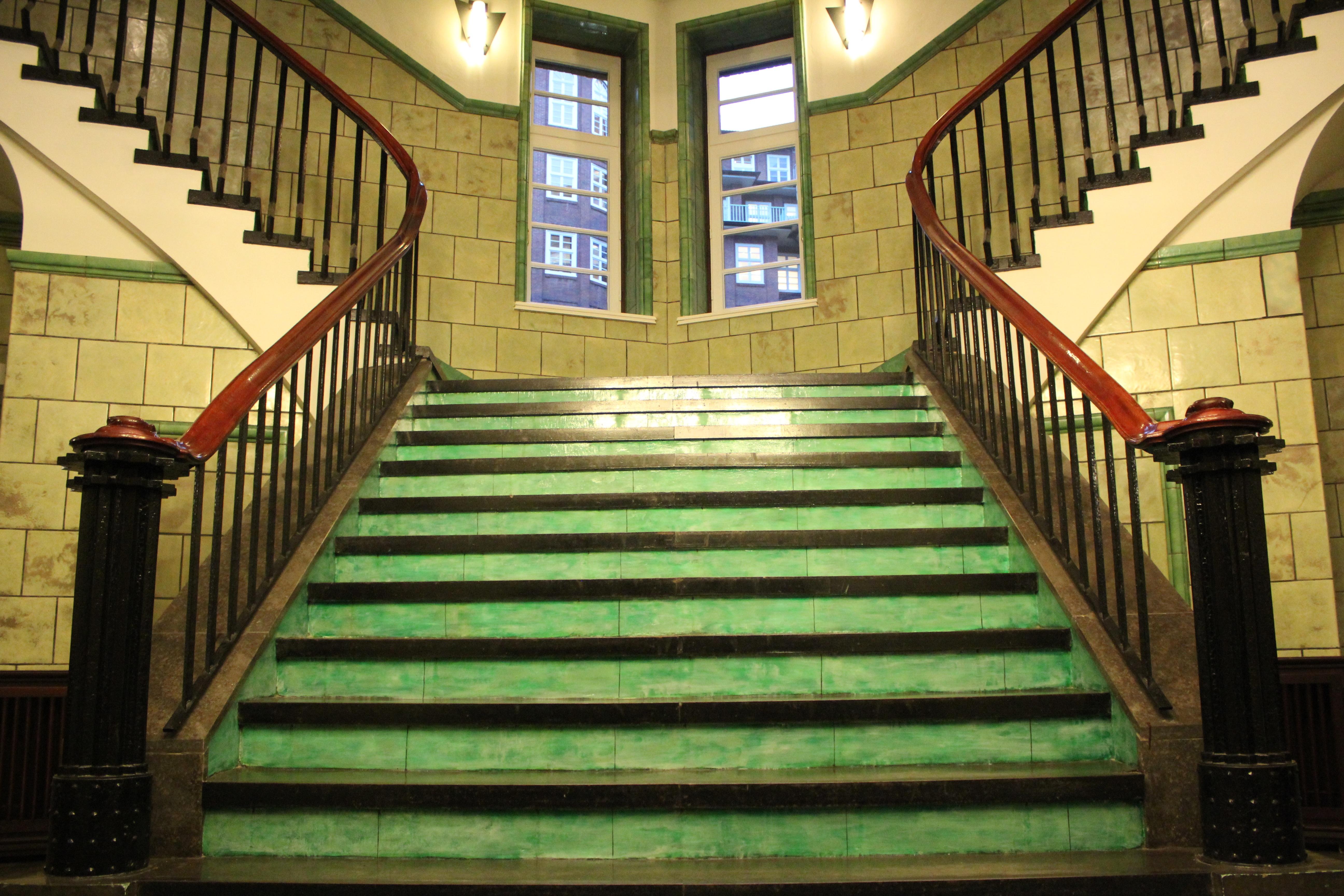 Architecture Wood Staircase Railing High Spiral Staircase Interior Design  Stairs Symmetry Estate Rise Hamburg Screenshot Gradually