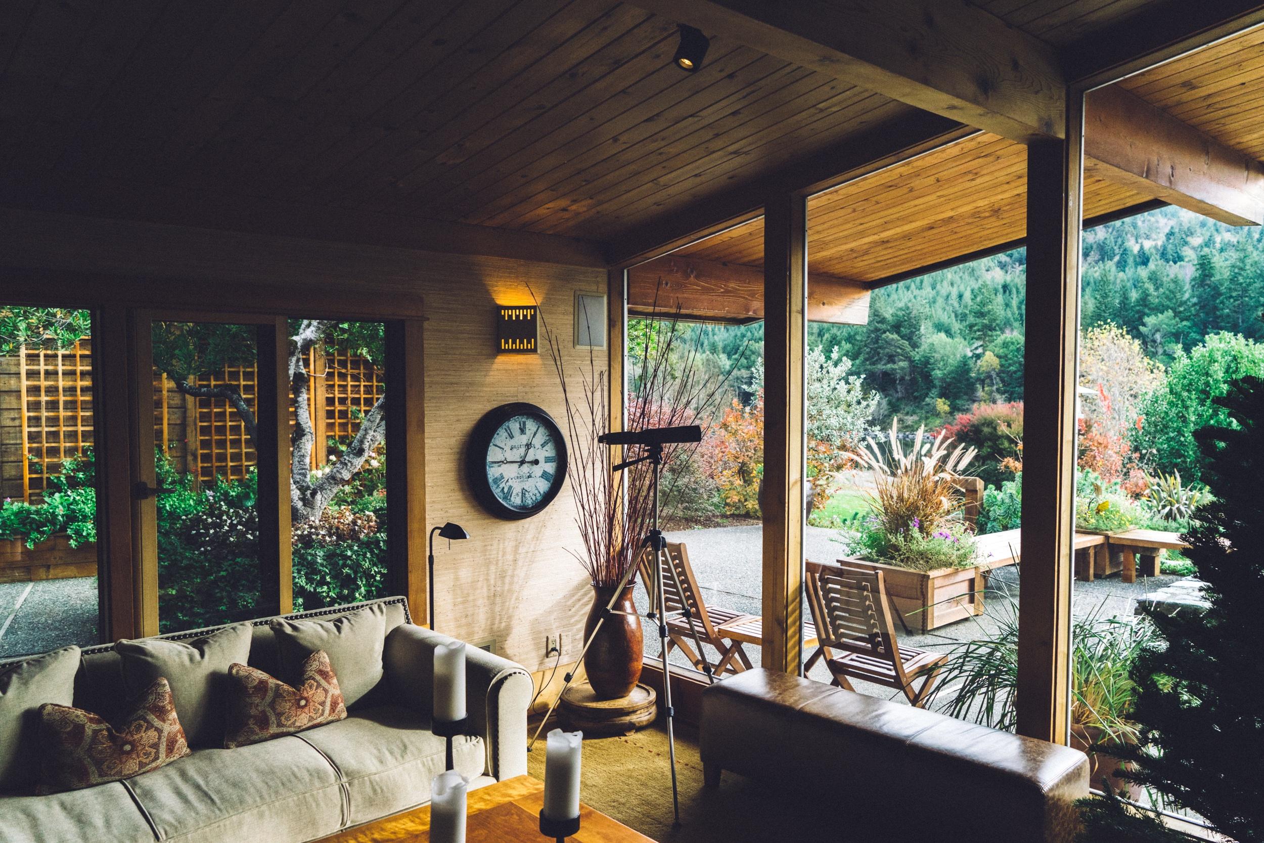 Architecture Wood Villa House Interior Window Restaurant Home Porch Cottage Indoor Backyard Property Living Room