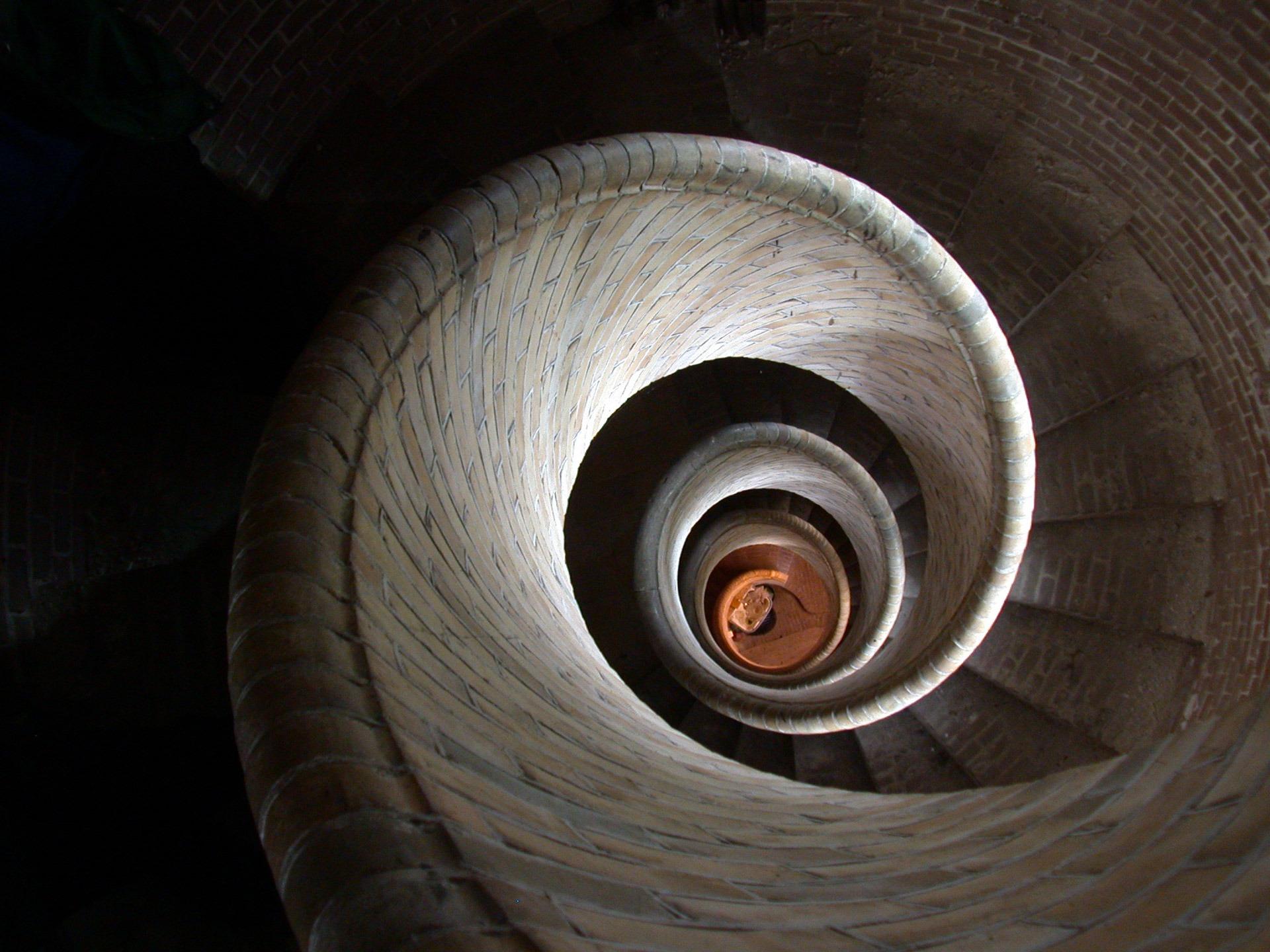 Fotos gratis arquitectura madera rueda espiral for Escalera de madera 5 pasos
