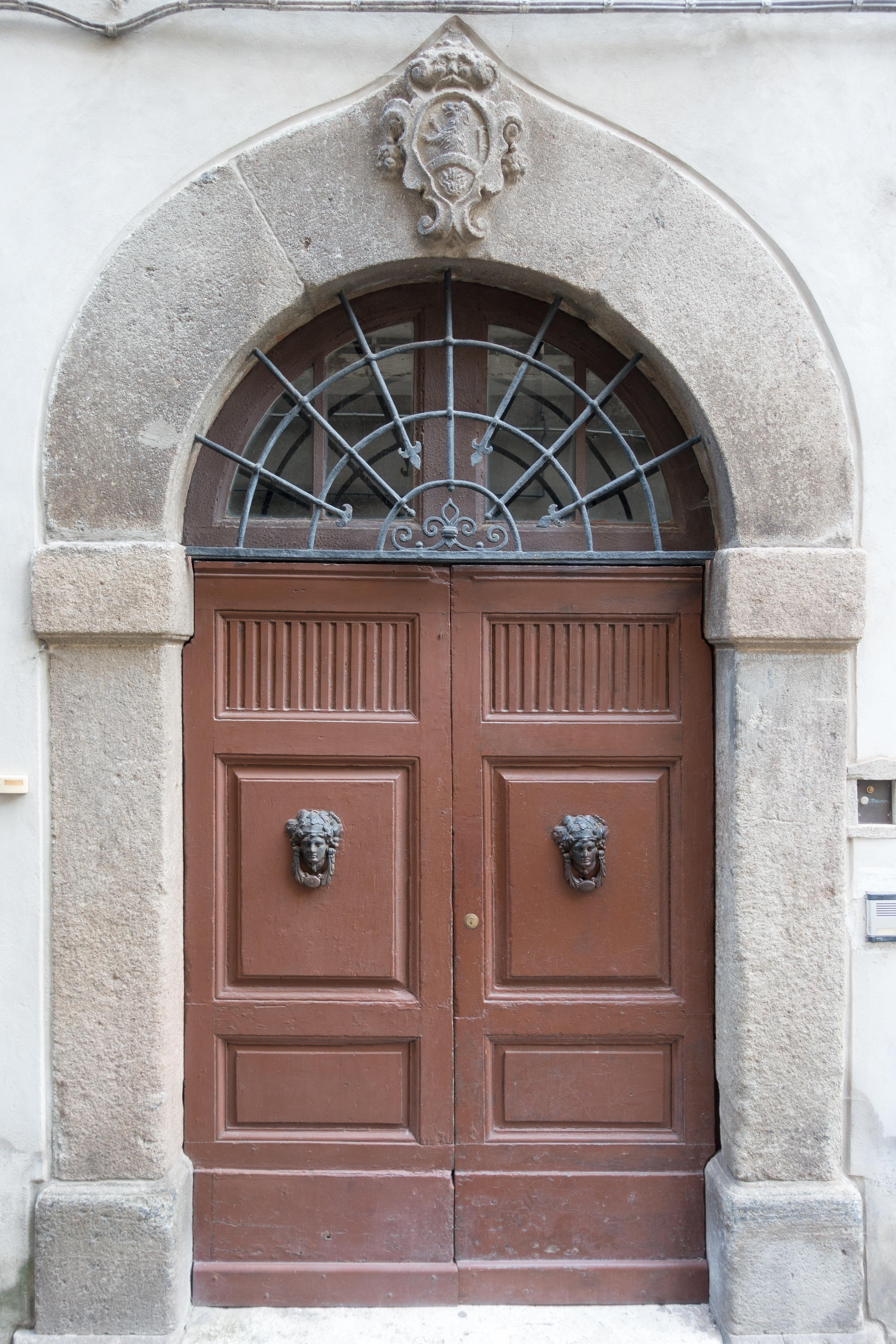 Wonderful Architecture Wood Window Building Home Arch Facade Gate Door Apartment  Front Door Input House Entrance Portal