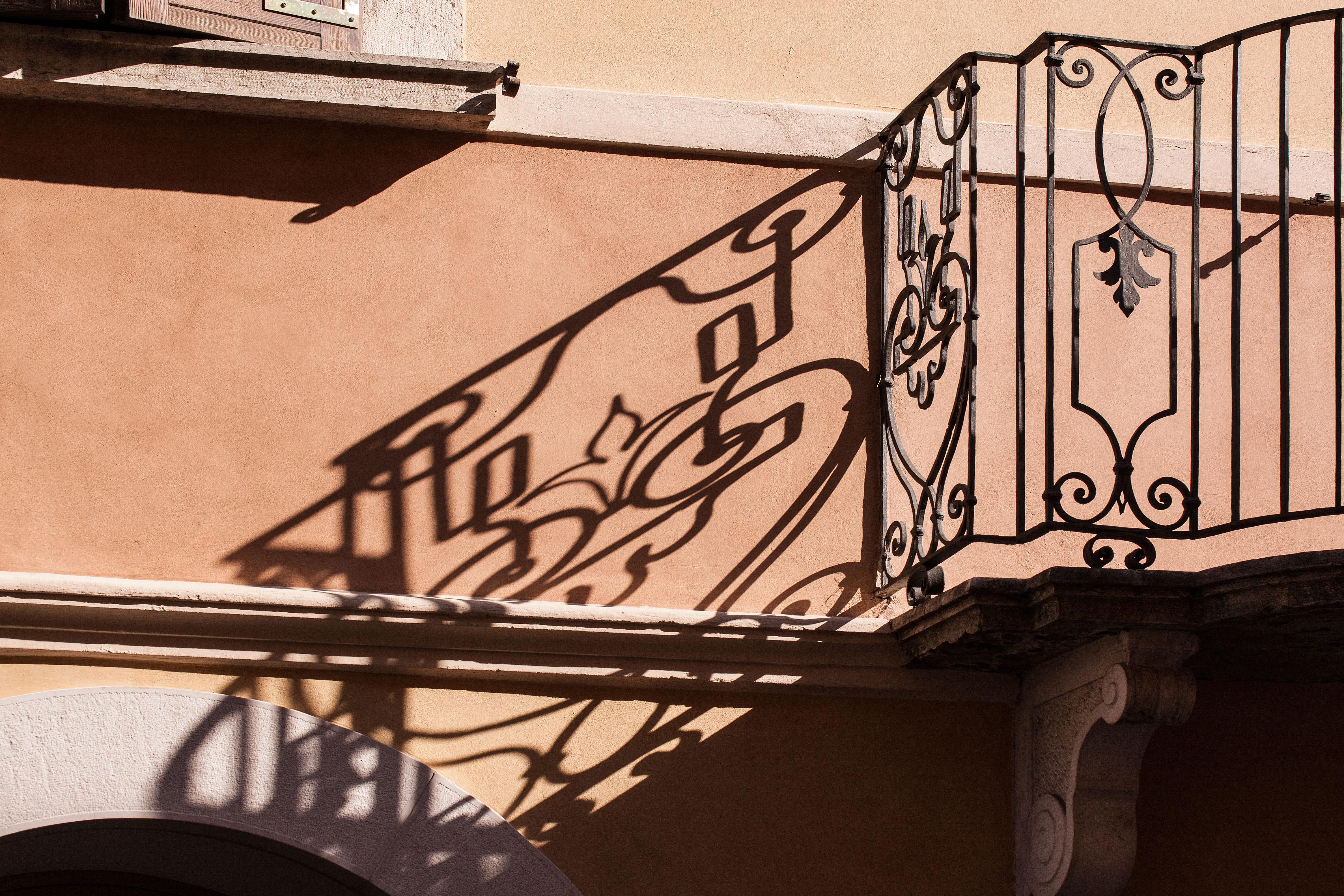 Fotos Gratis Arquitectura Madera Ventana Vaso Balc N  ~ Barandas De Hierro Para Escaleras Interiores