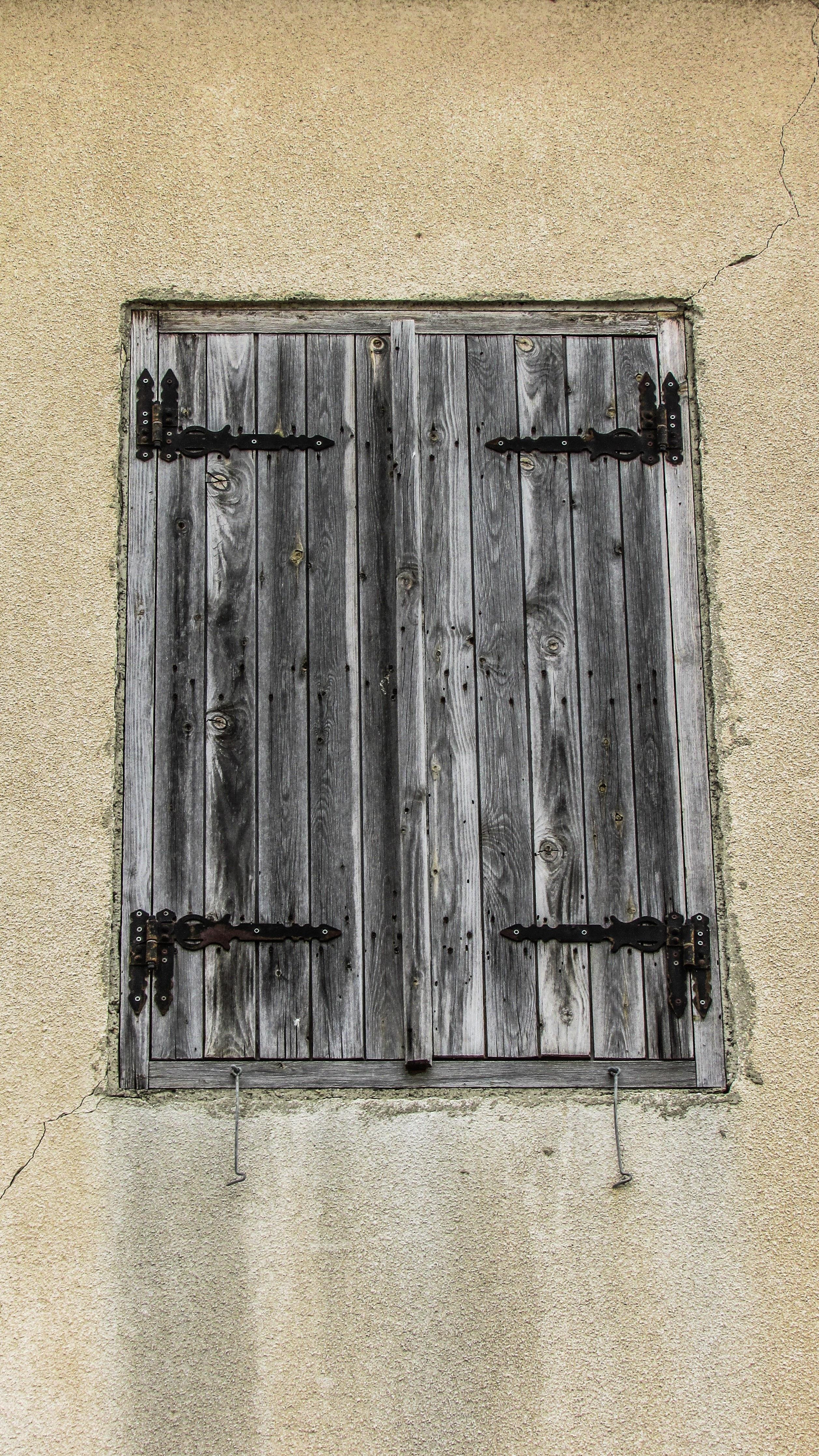 Fotos Gratis Arquitectura Madera Ventana Pared Pueblo L Nea  ~ Puertas Hierro Exterior Fachadas