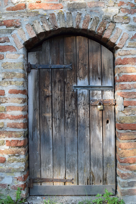 Fotoğraf Mimari Ahşap Pencere Eski Duvar Kemer
