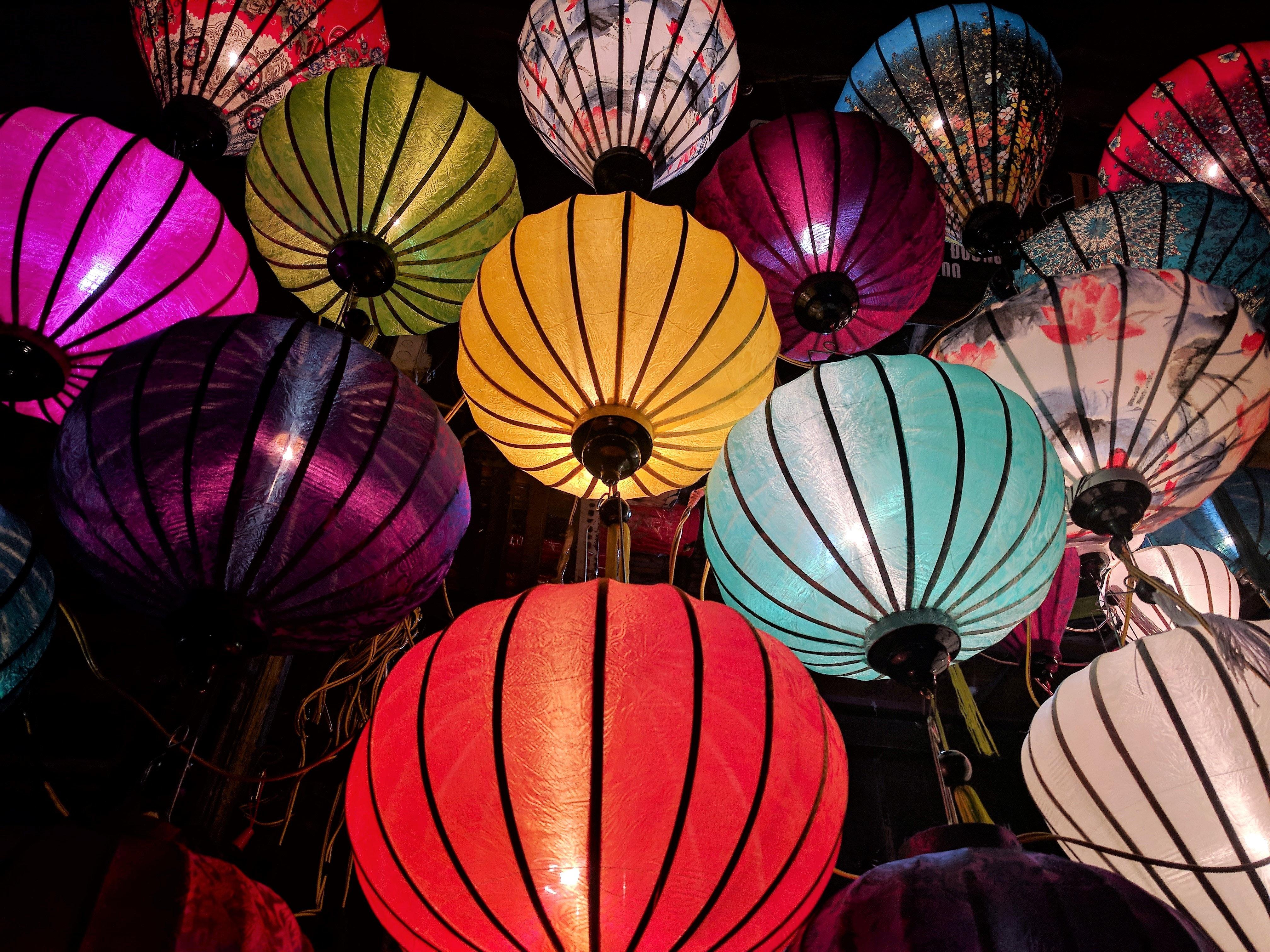 Decorazioni Con Lanterne Cinesi : Immagini belle arte luminosa lanterne cinesi colorato colori