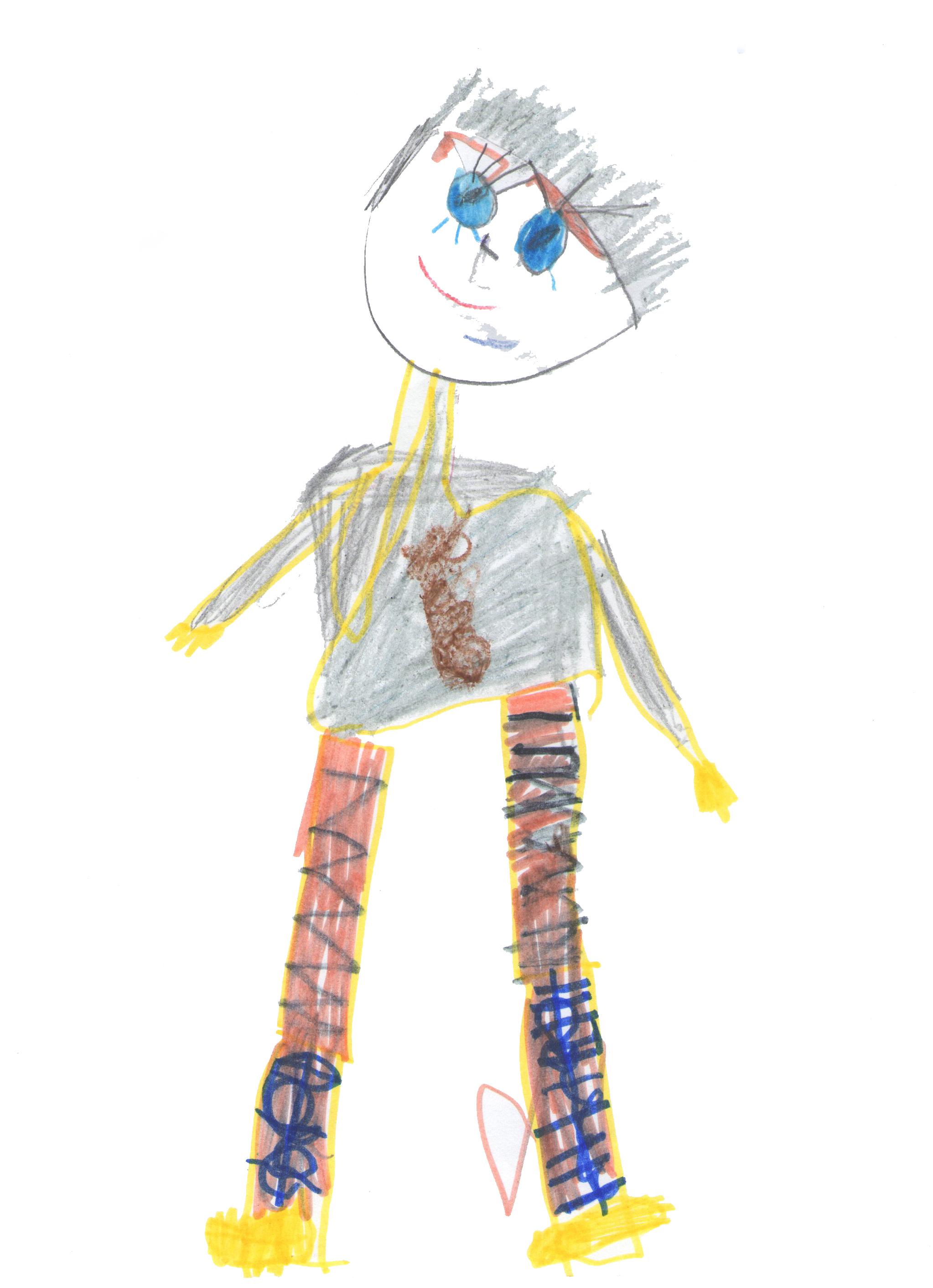 Gambar Seni Gambar Kartun Ilustrasi Mode Desain Busana
