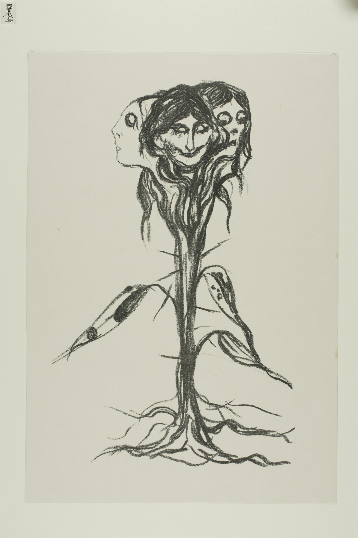 Gambar Gambar Angka Menggambar Sketsa Pohon Ilustrasi