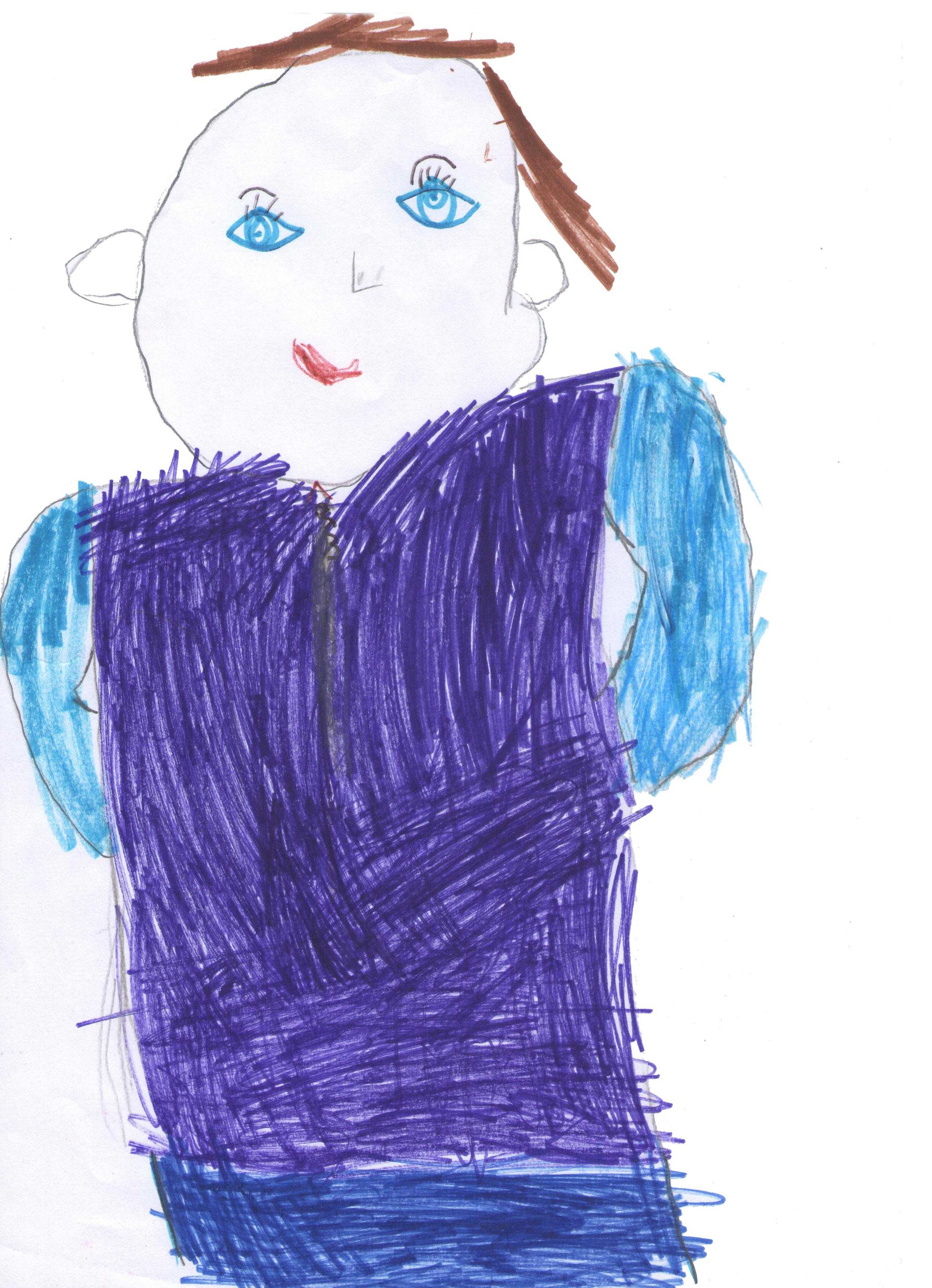 Gambar Gambar Sketsa Ilustrasi Mode Seni Anak Desain
