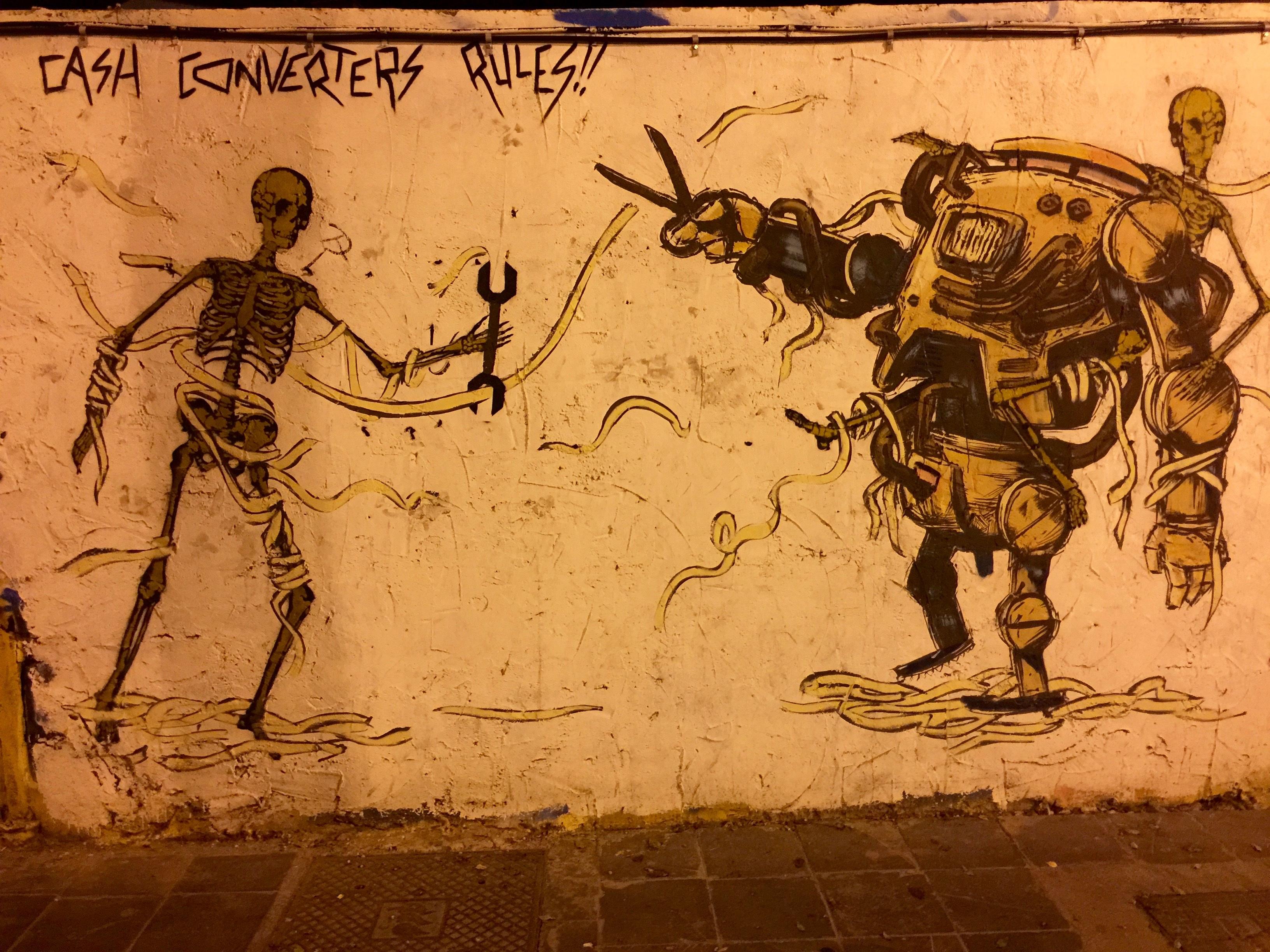Gambar Sketsa Gambar Ilustrasi Seni Jalanan Tagging