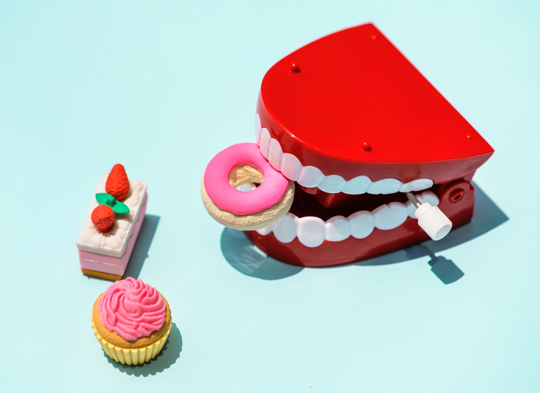 Gambar Latar Belakang Ulang Tahun Terang Kue Permen