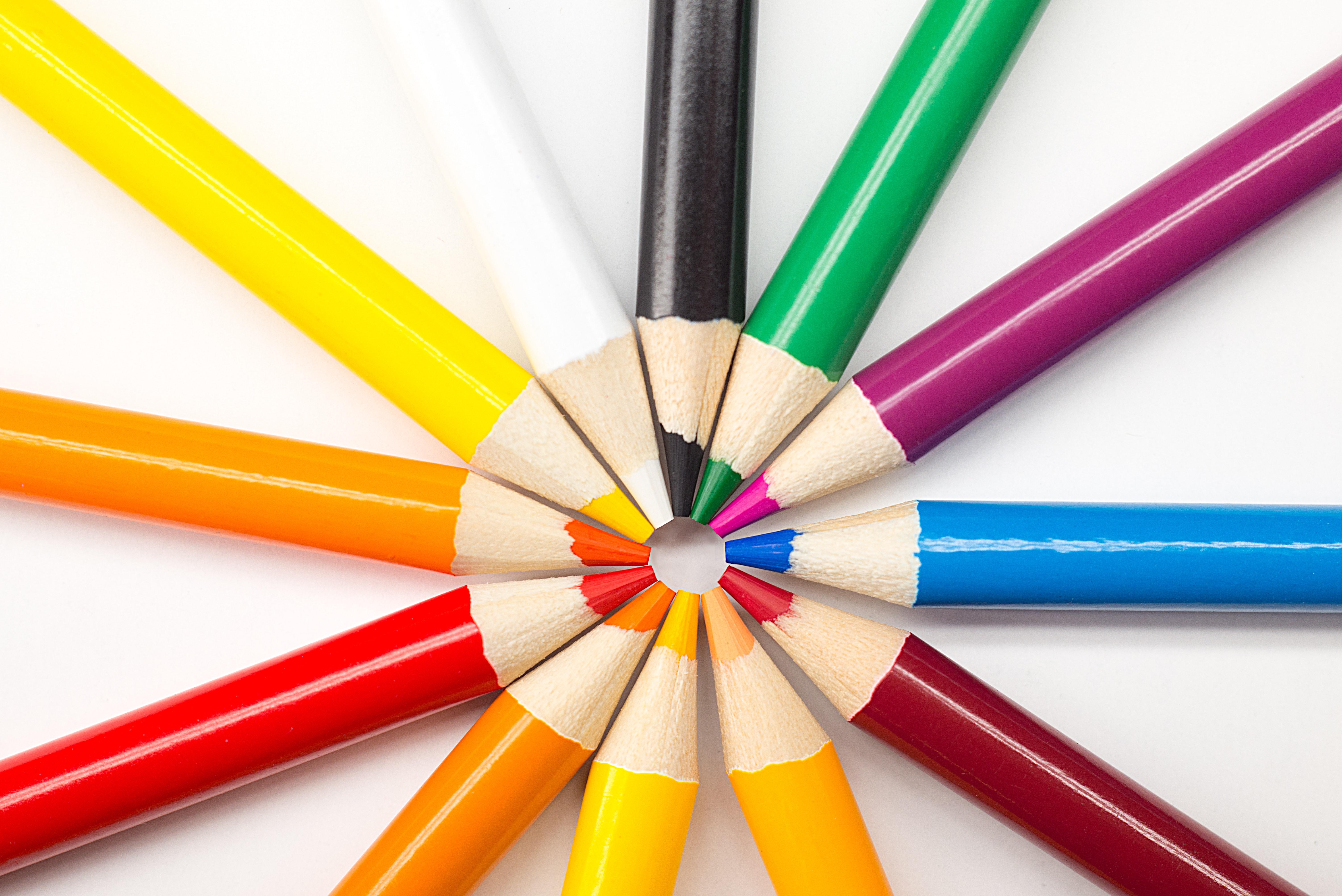 Manualidades Vistosas.Fotos Gratis Artes Y Manualidades Lapiz De Color Vistoso