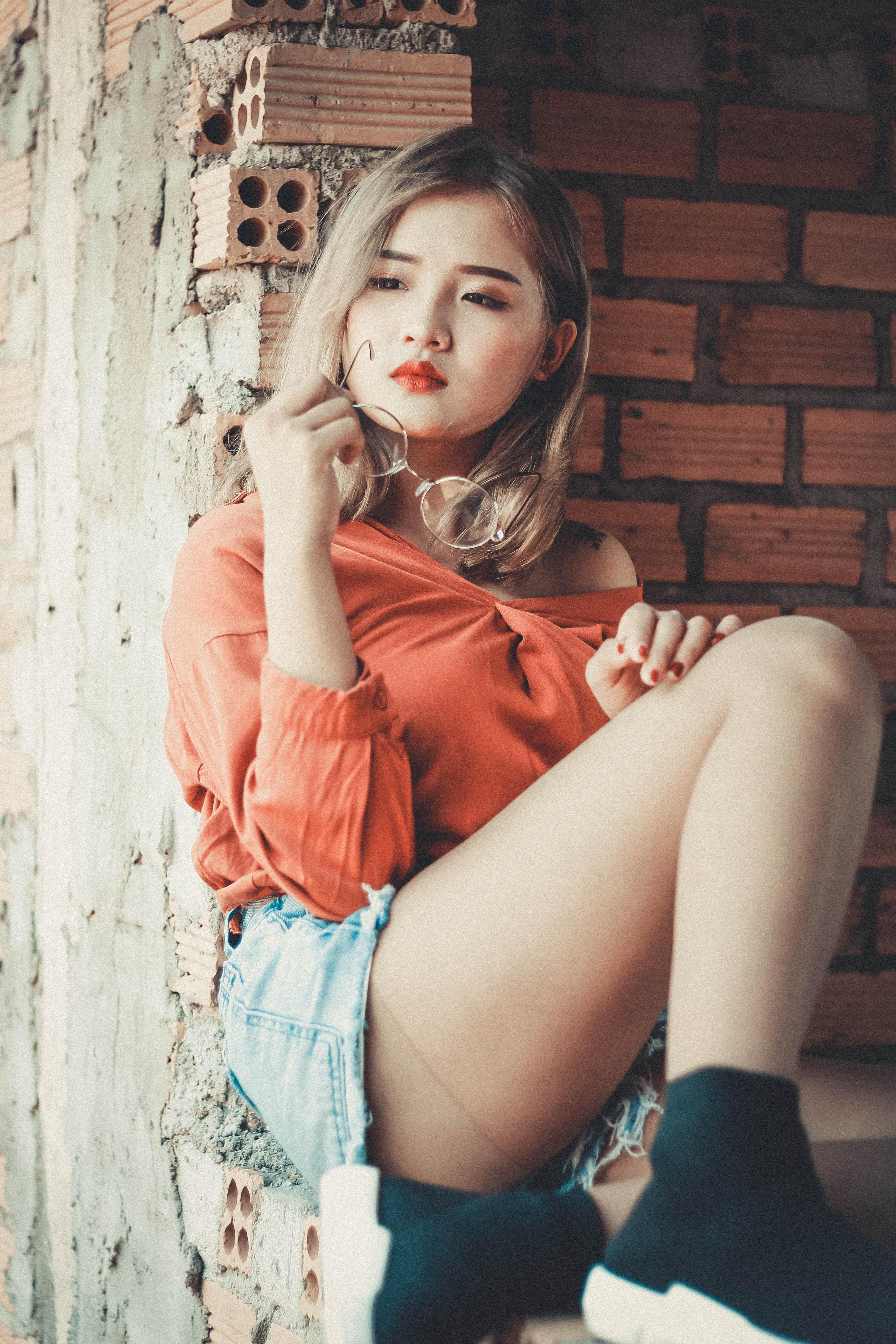 Free Images  Asian, Beautiful, Beauty, Cute, Eyeglasses -5077