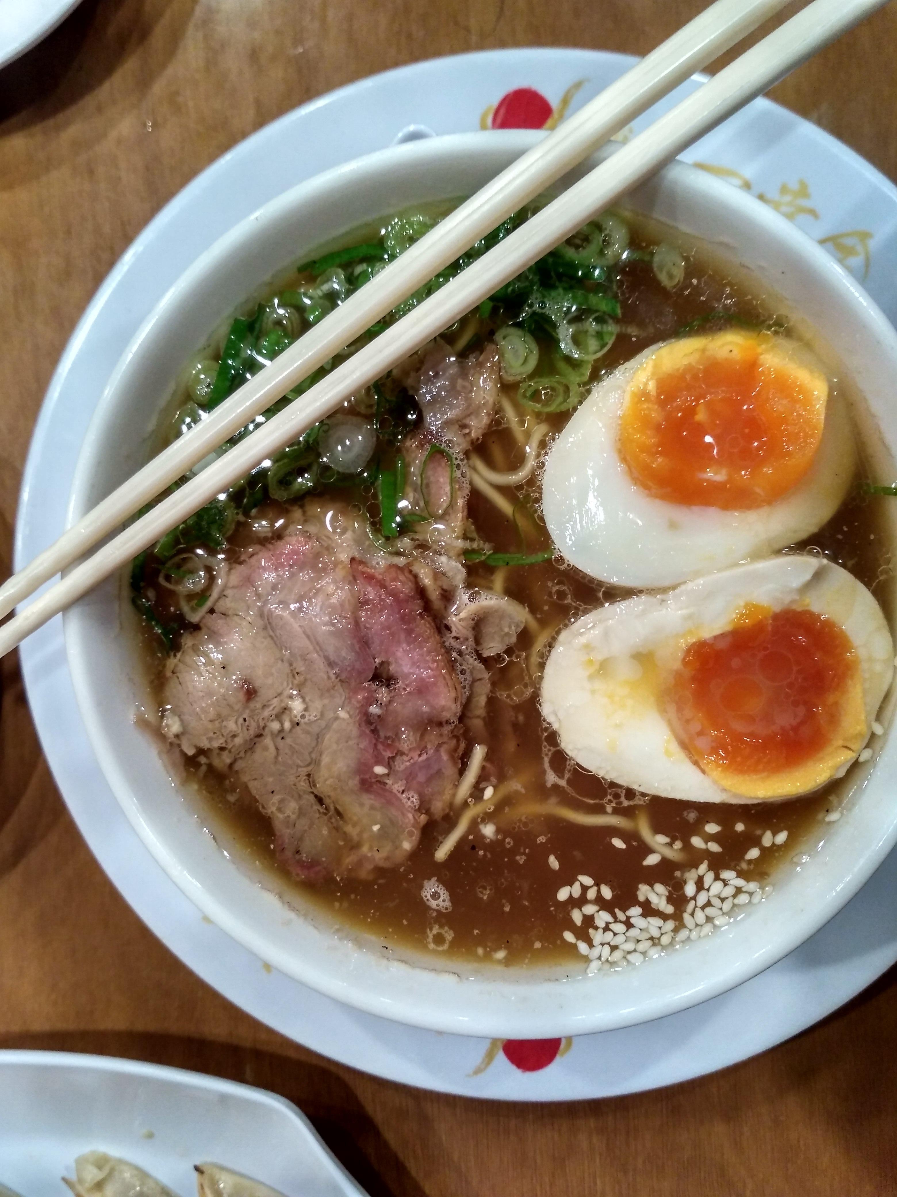 Gambar Daging Makan Siang Masakan Lezat Sup Mi Sumpit