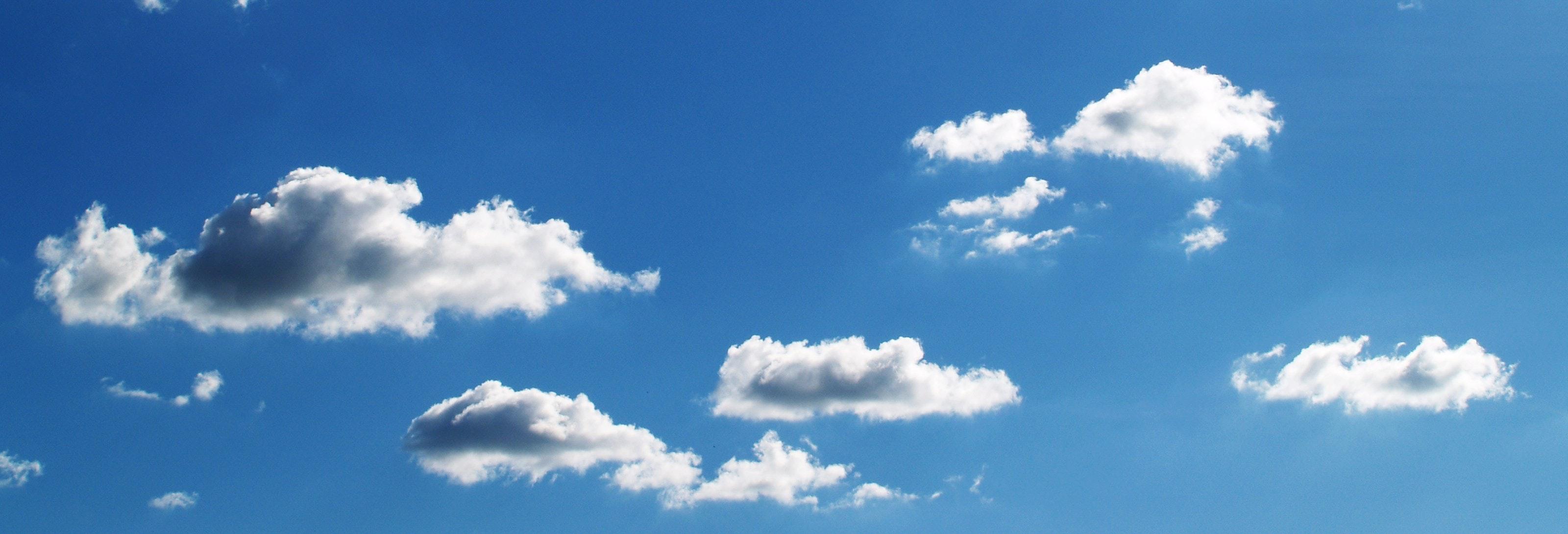 Free Images : nature, horizon, light, cloud, sunlight ...  |Light Blue Sky Clouds