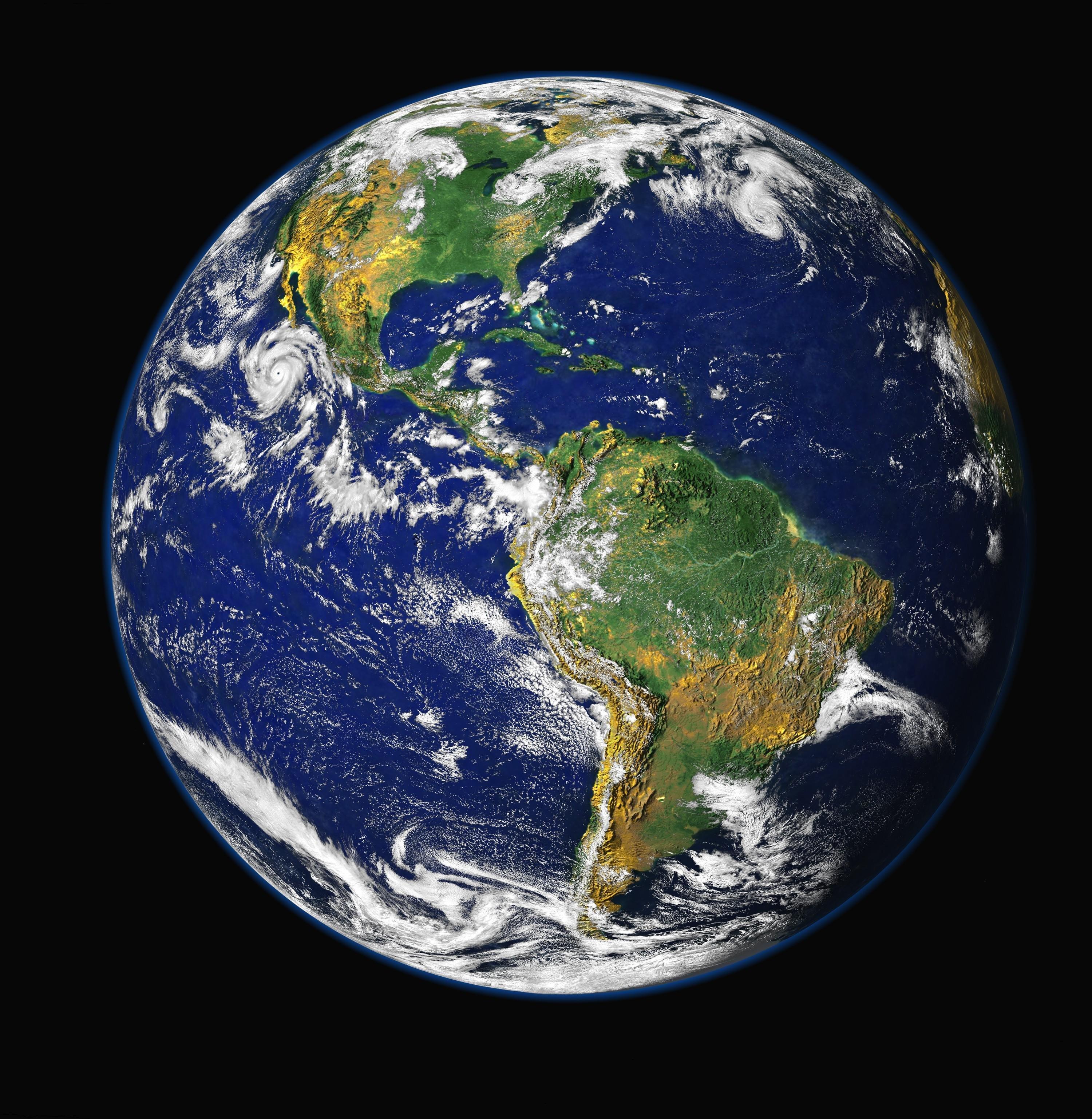 Fotos de satelites orbitando la tierra 7