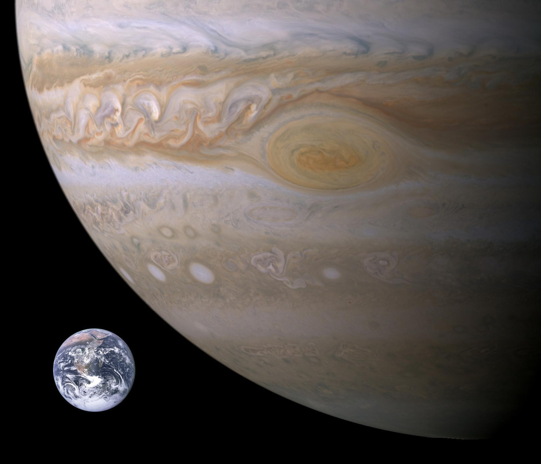 размером страницу юпитер и земля планета фото сегодняшний момент