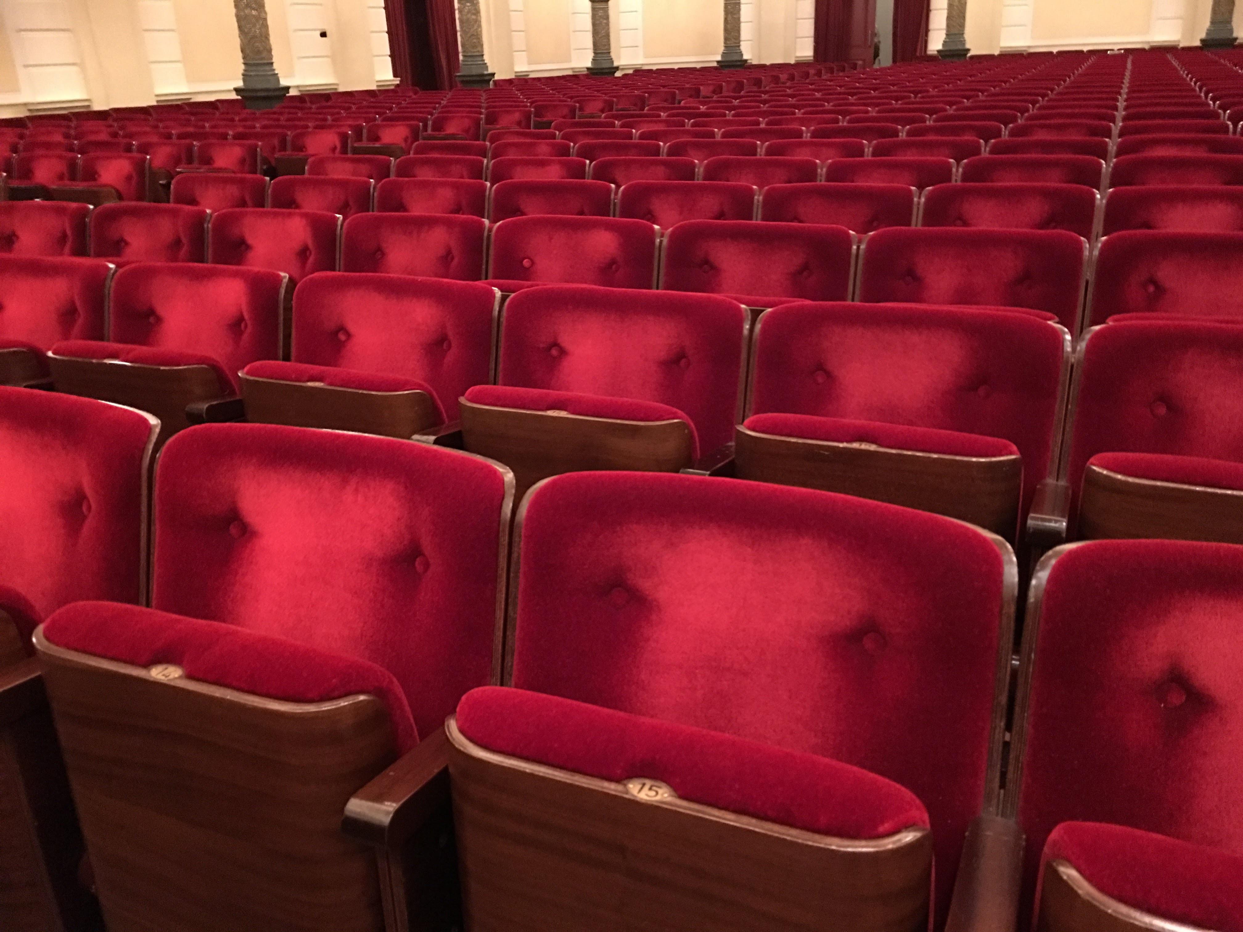 Teatro Le Sedie.Immagini Belle Auditorium Sedia Sede Concerto Rosso