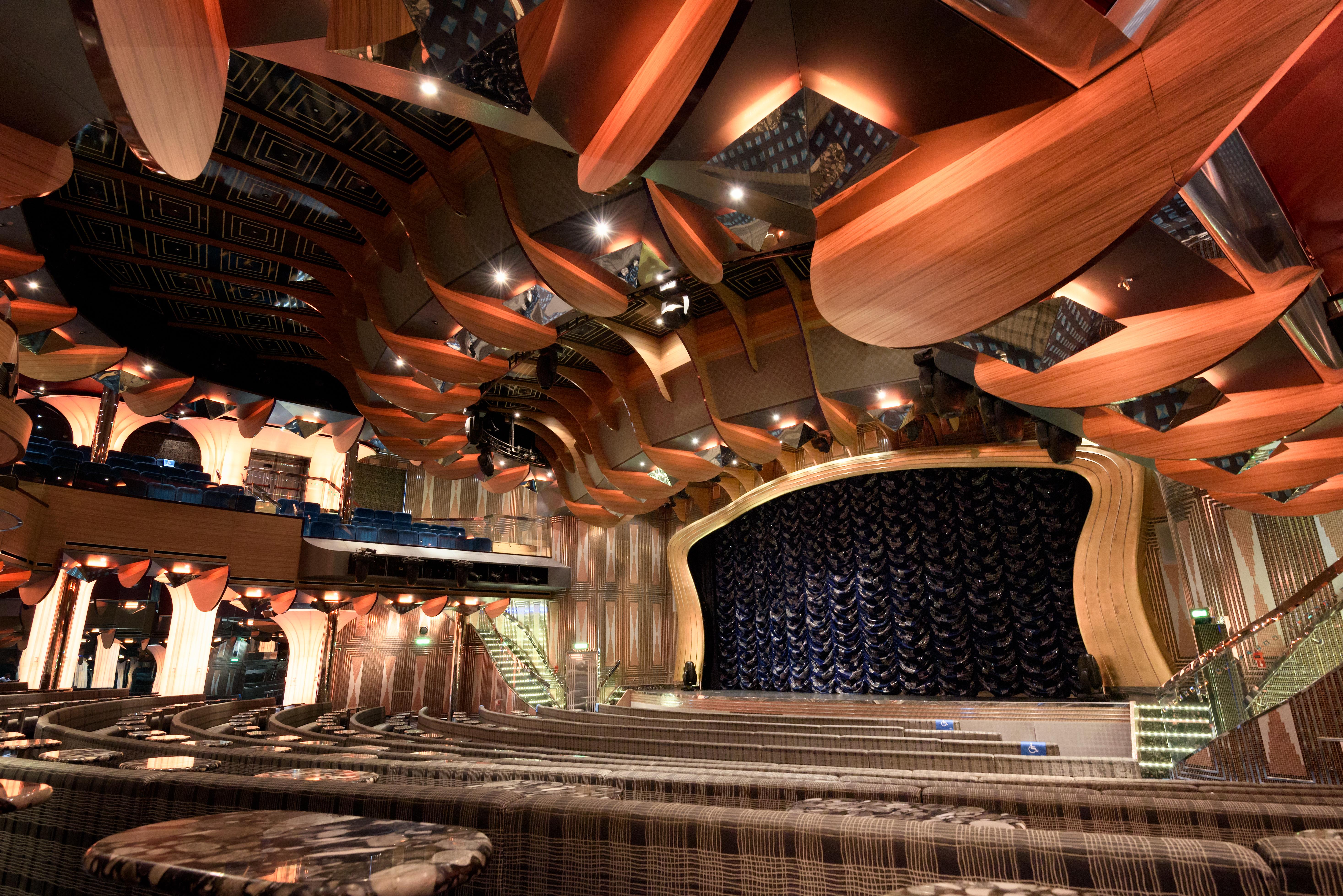 Auditorium Ship Mediterranean Italy Nikon Interior Design Cruise 2016 Theatre Free Stage Publicdomain Venezia Veneto Costa