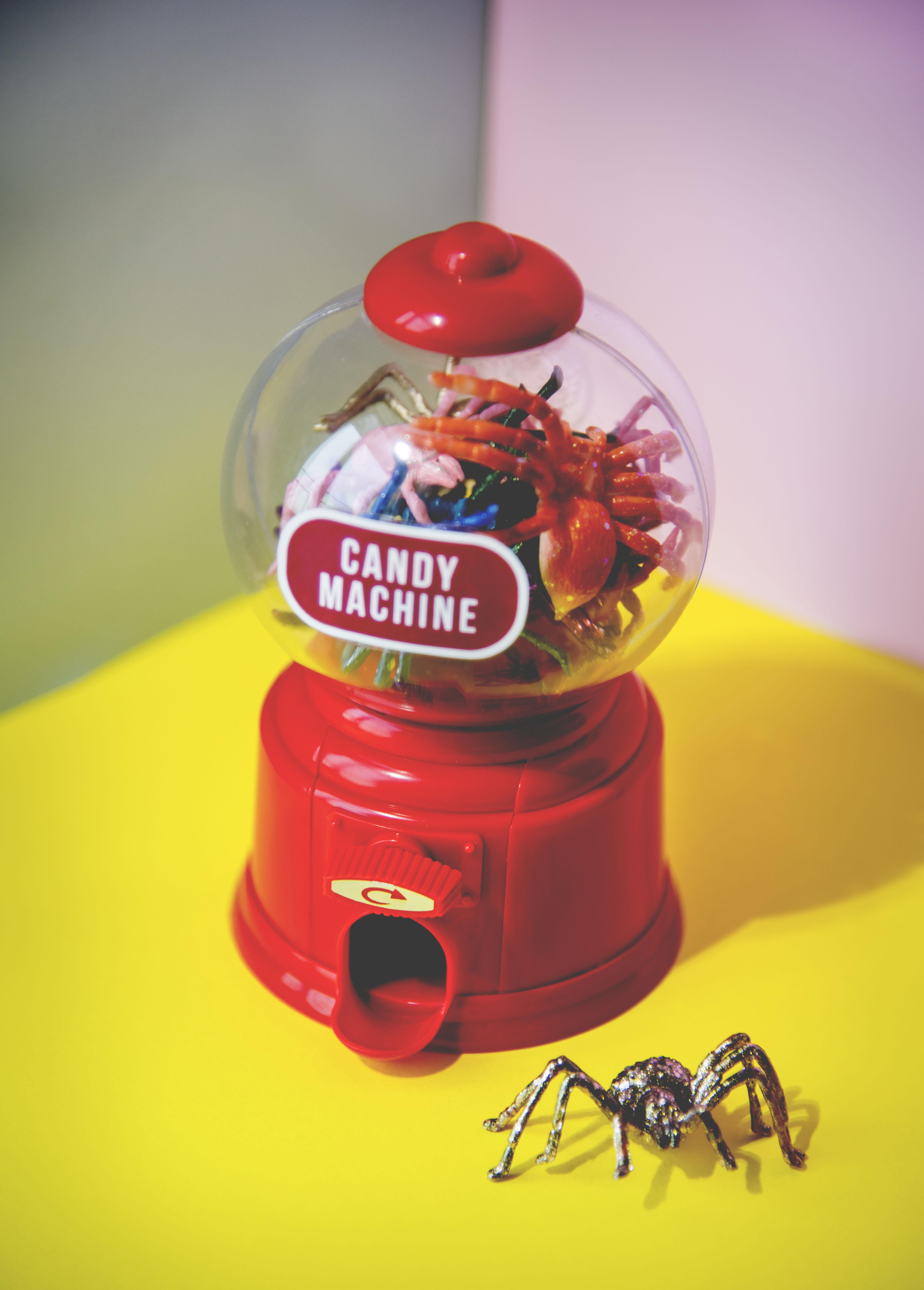 Poze Automat Fundal Luminos Gândac Masina De Bomboane