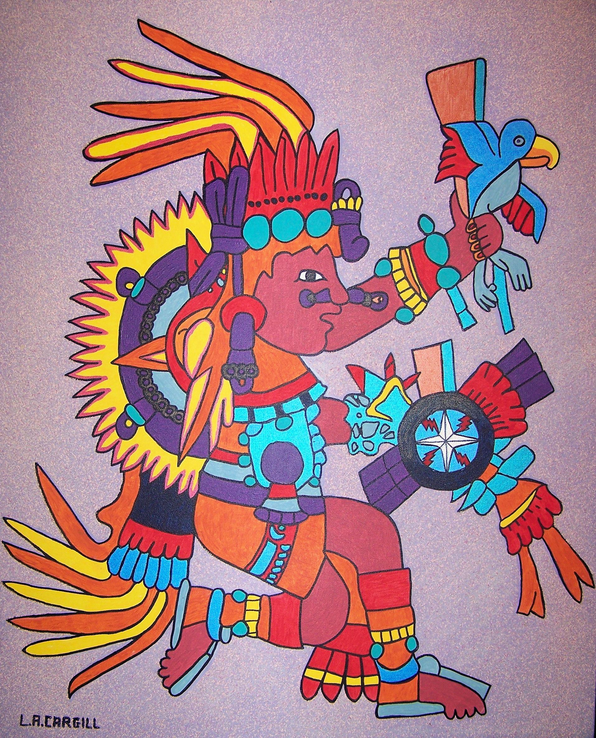 Gambar Lukisan Seni Sketsa Ilustrasi Gambar Kartun Inca Buku