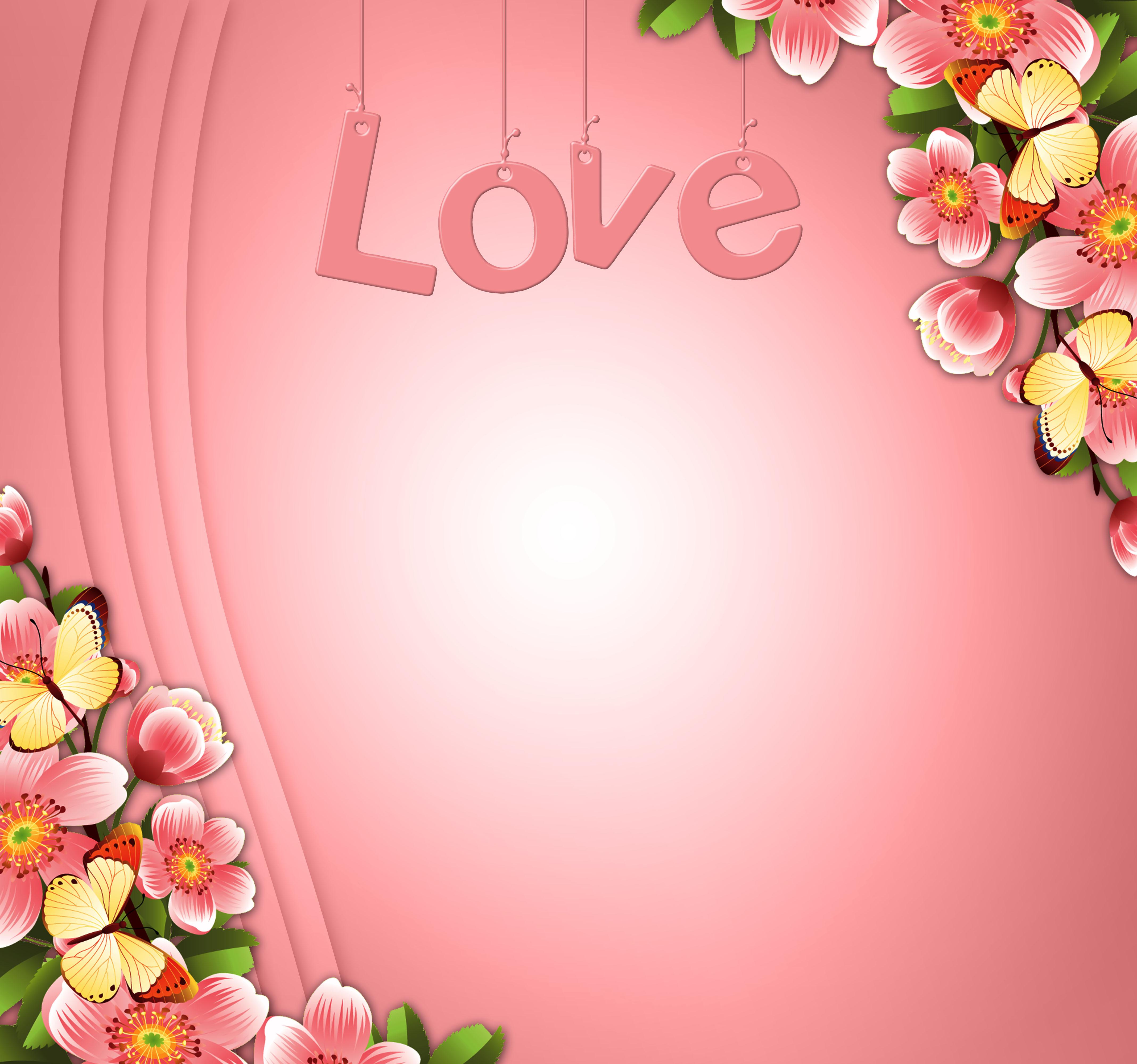 banco de imagens fundo romântico desenhar flor rosa flora