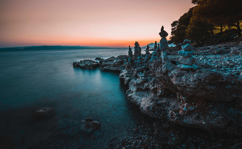 Gambar Pemandangan Alam Asli Senja - Kumpulan Montase ...