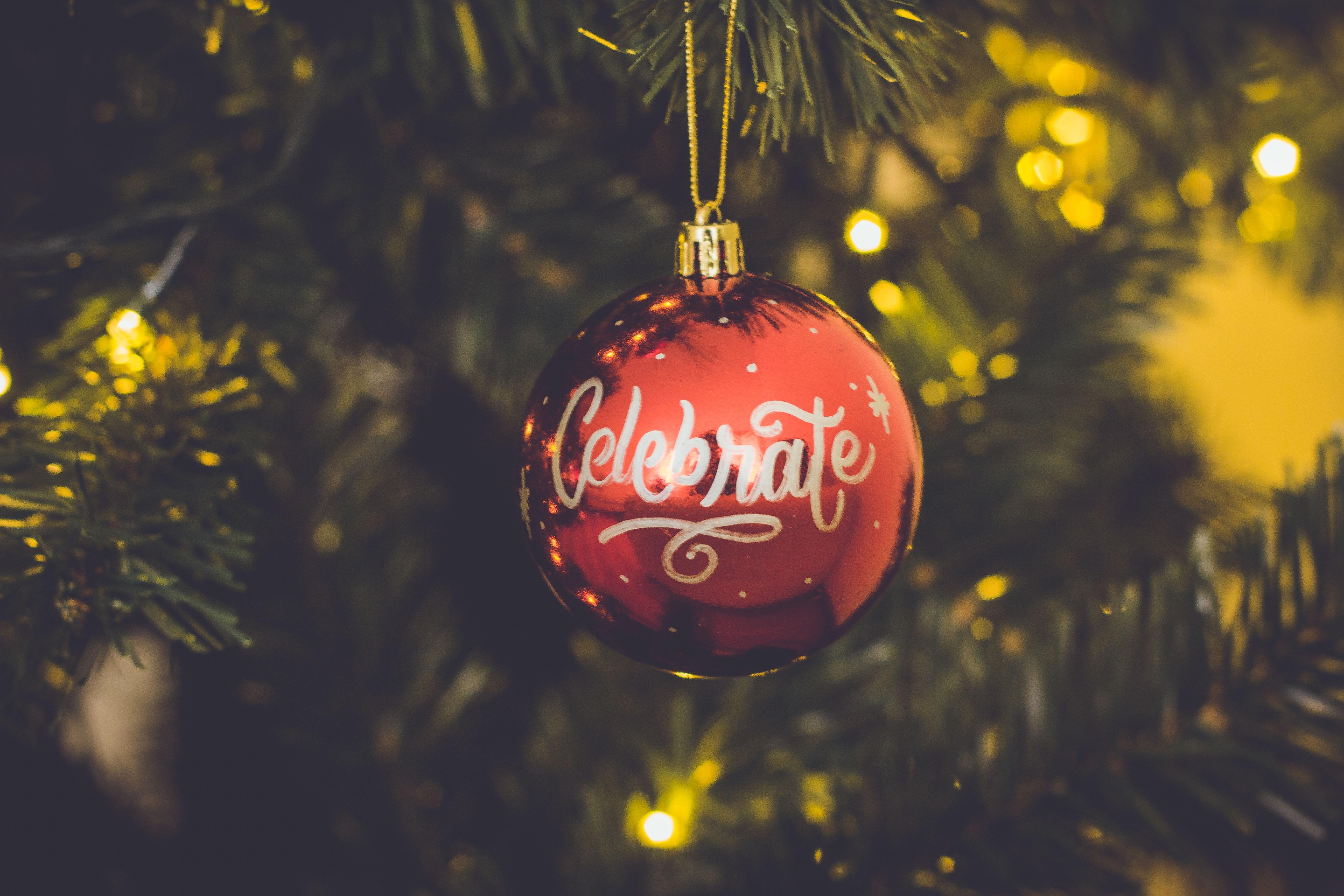 Free Images Bokeh Bright Celebrate Christmas Ball