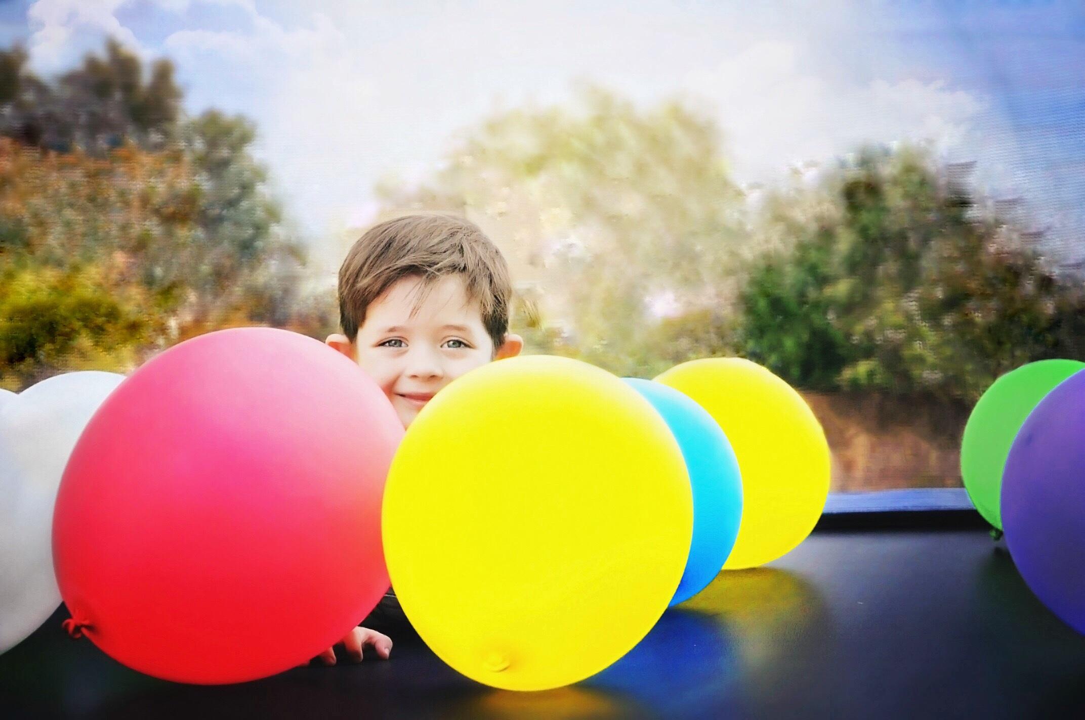 Дети шарики картинки