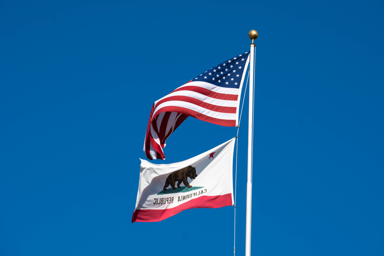 Kalifornian lippu karhu eläimet tähden lahja