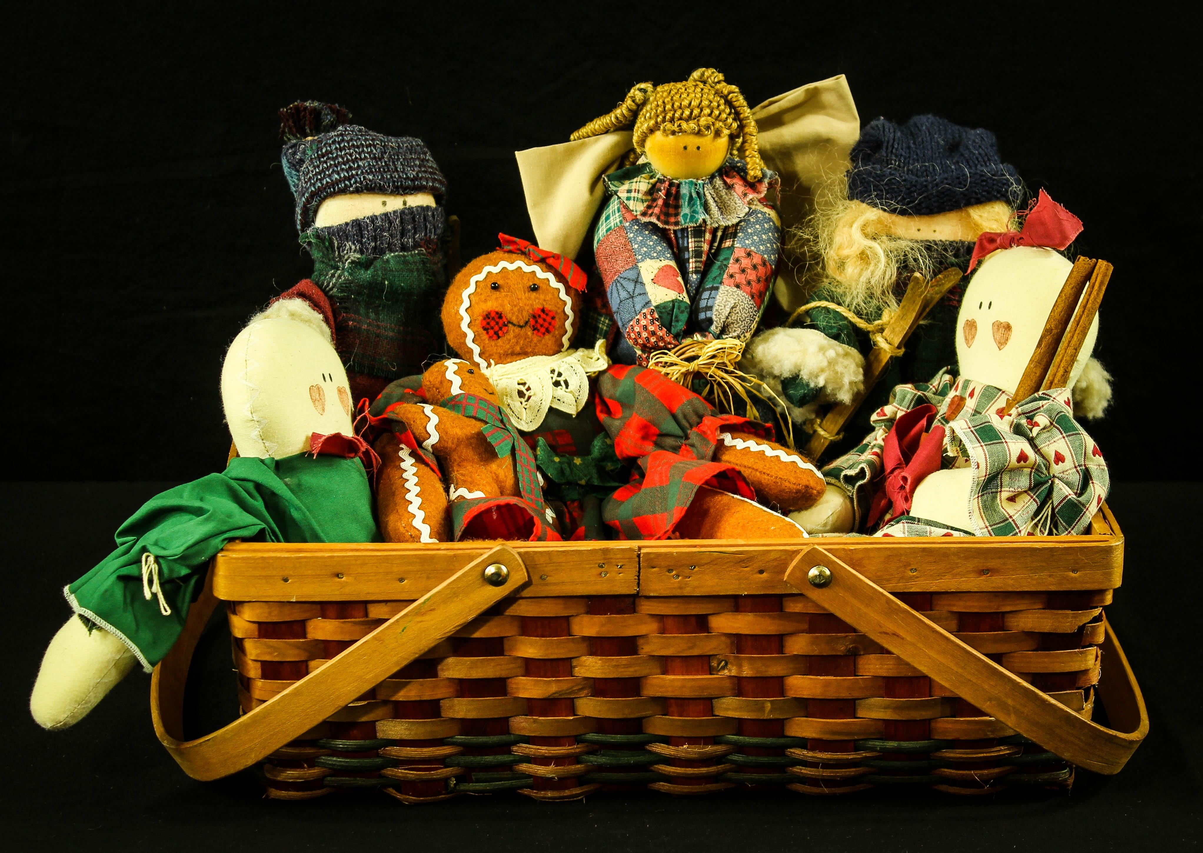 Gambar Mainan Miniatur Malaikat Arca Kue Jahe Manusia Salju