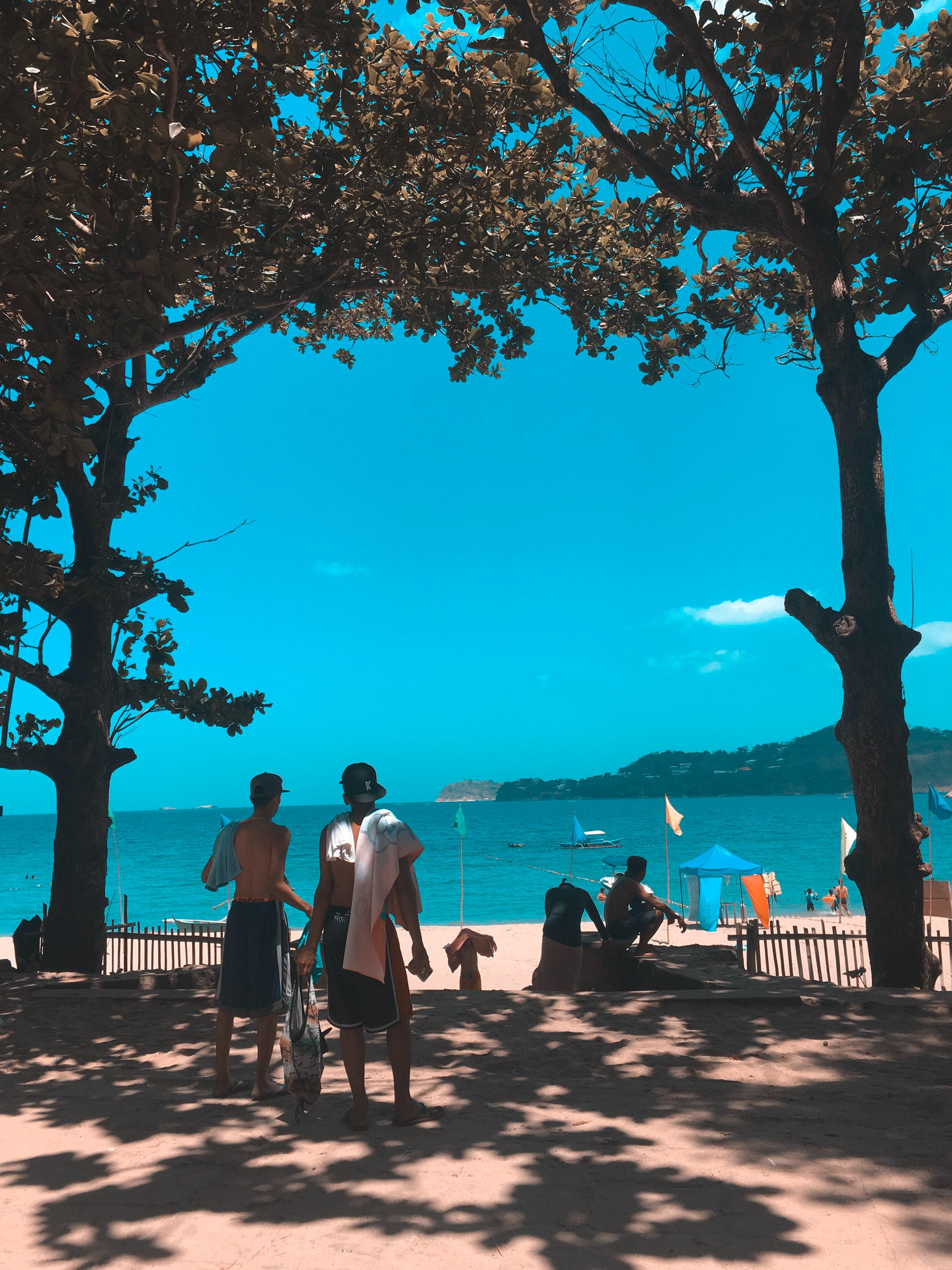 Hình ảnh Bờ Biển Màu Xanh Da Trời đám Mây Ban Ngày