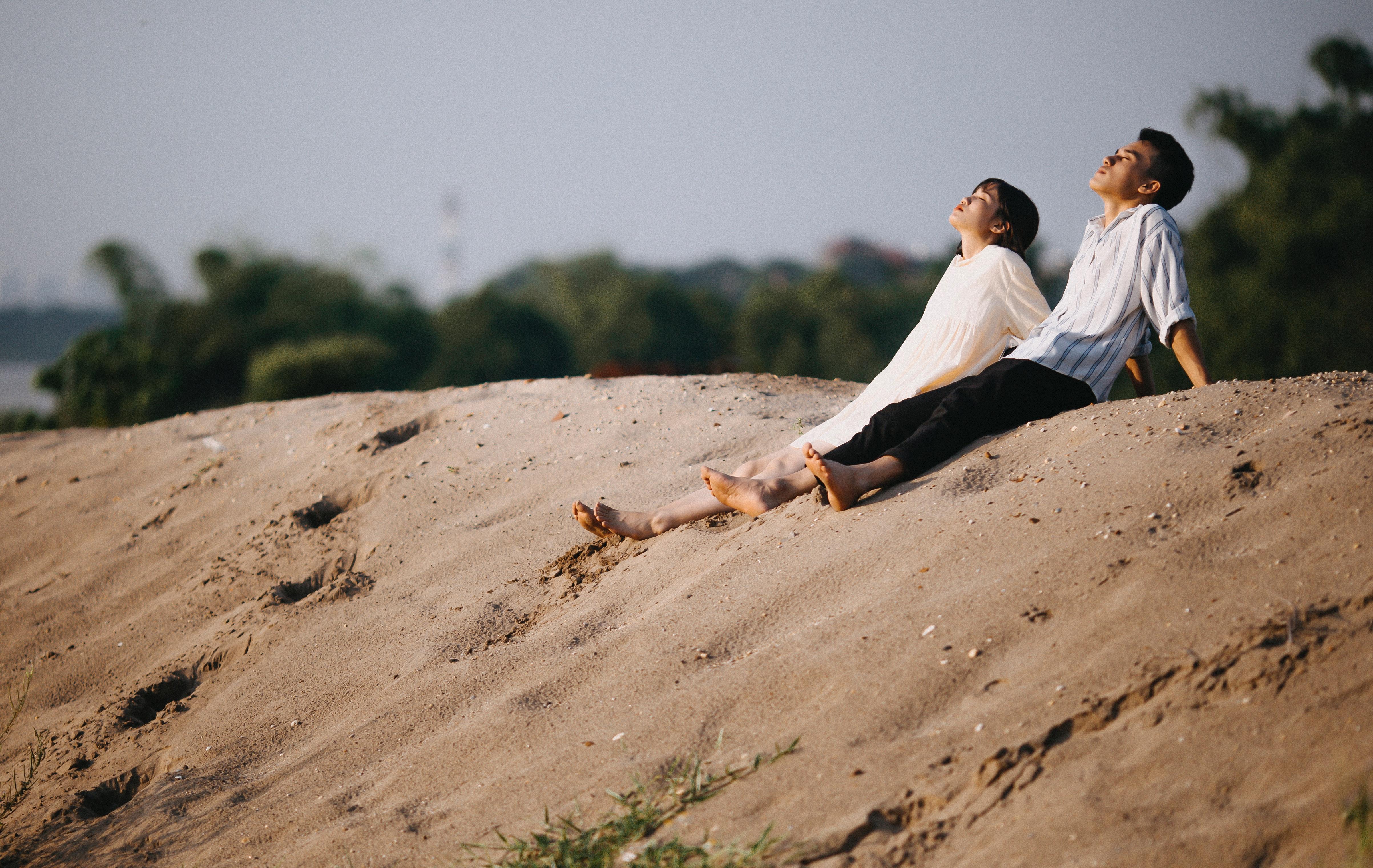 Free Images Beach Boy Couple Daylight Girl Landscape