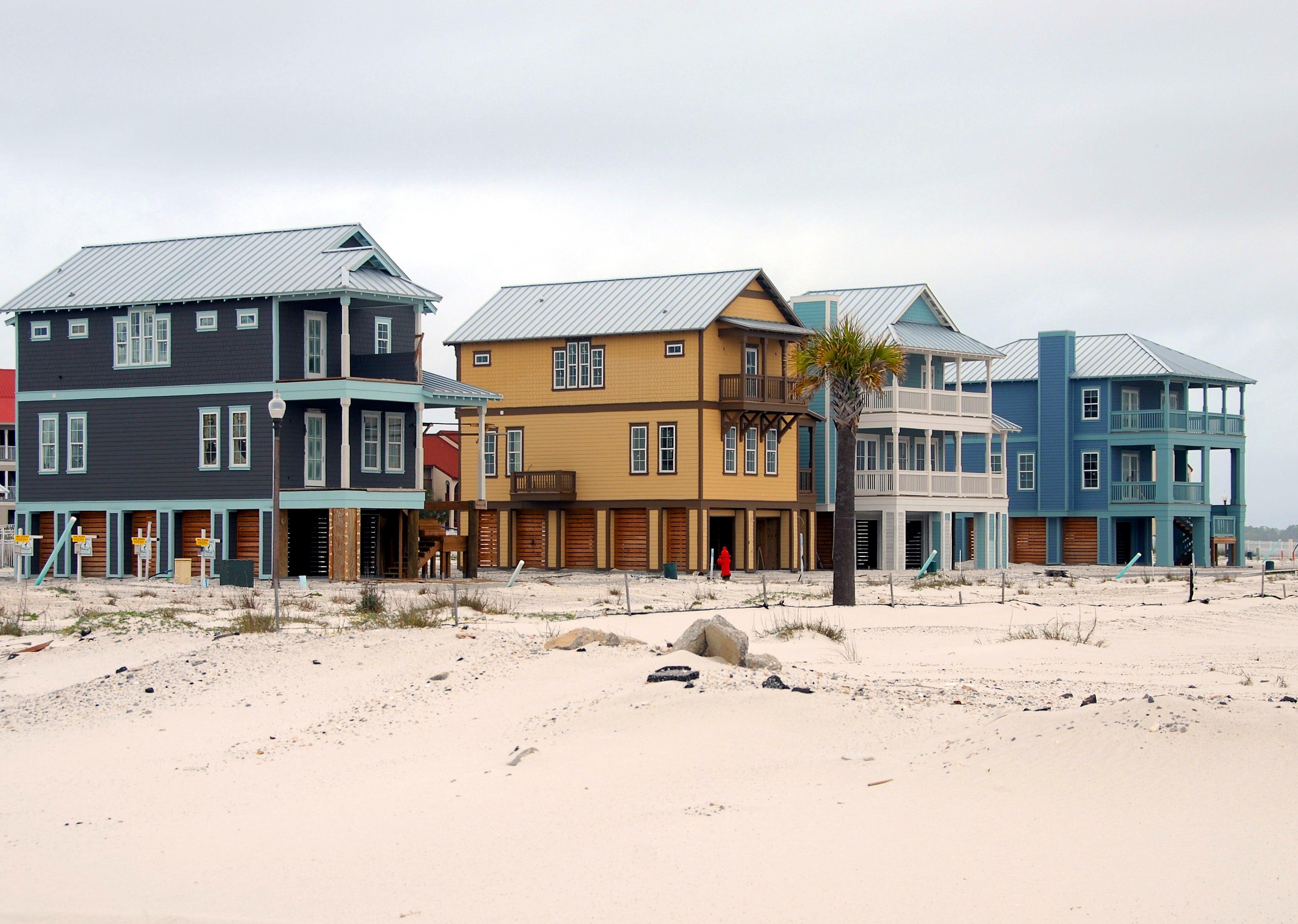 Ocean Beach Homes
