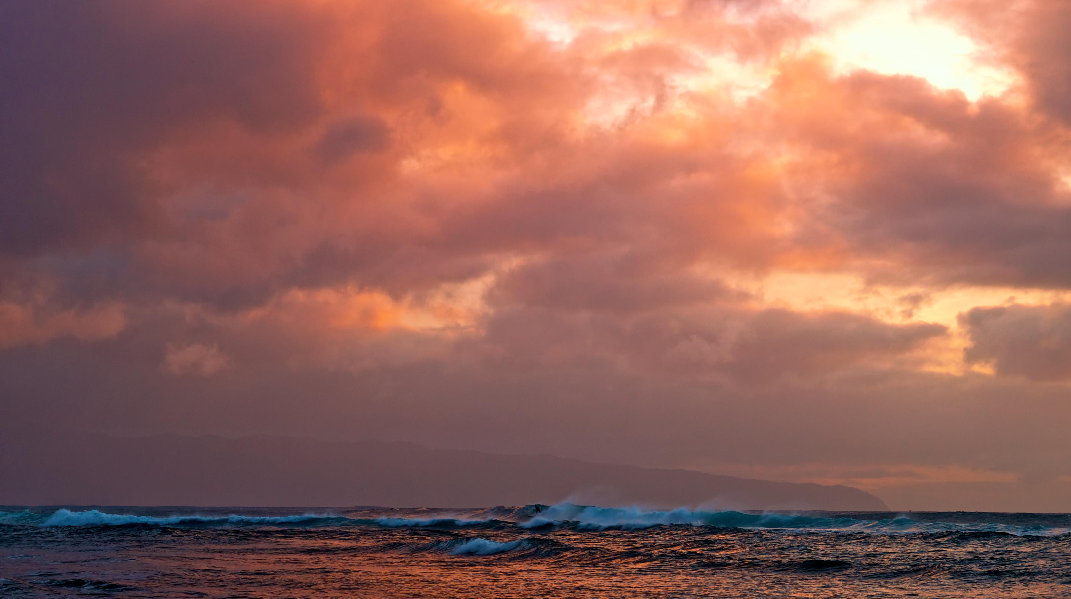 Море закат волна  № 3891393 бесплатно