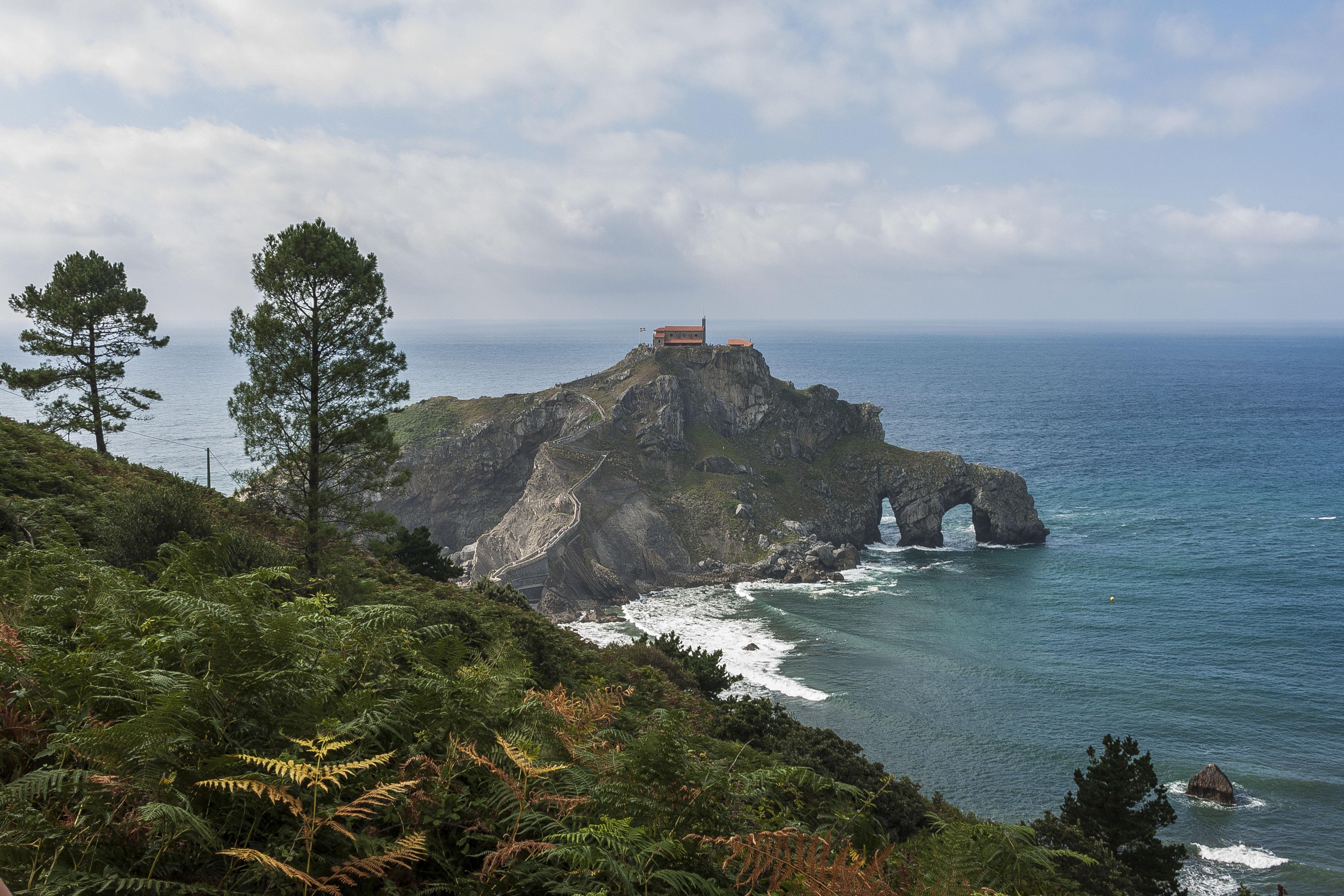 Fotos gratis playa paisaje mar costa naturaleza - Arboles pais vasco ...
