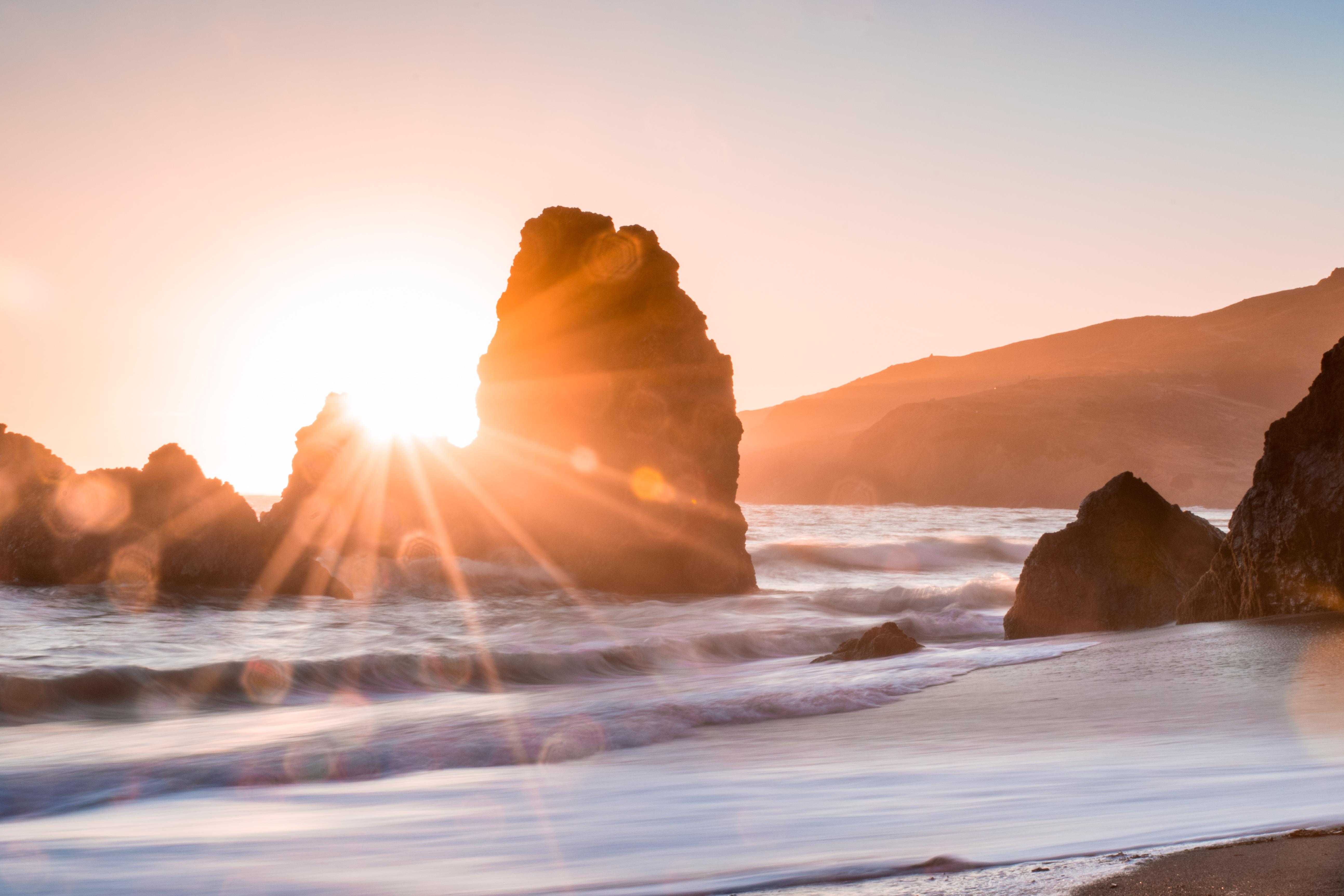 утро на берегу океана картинки нет