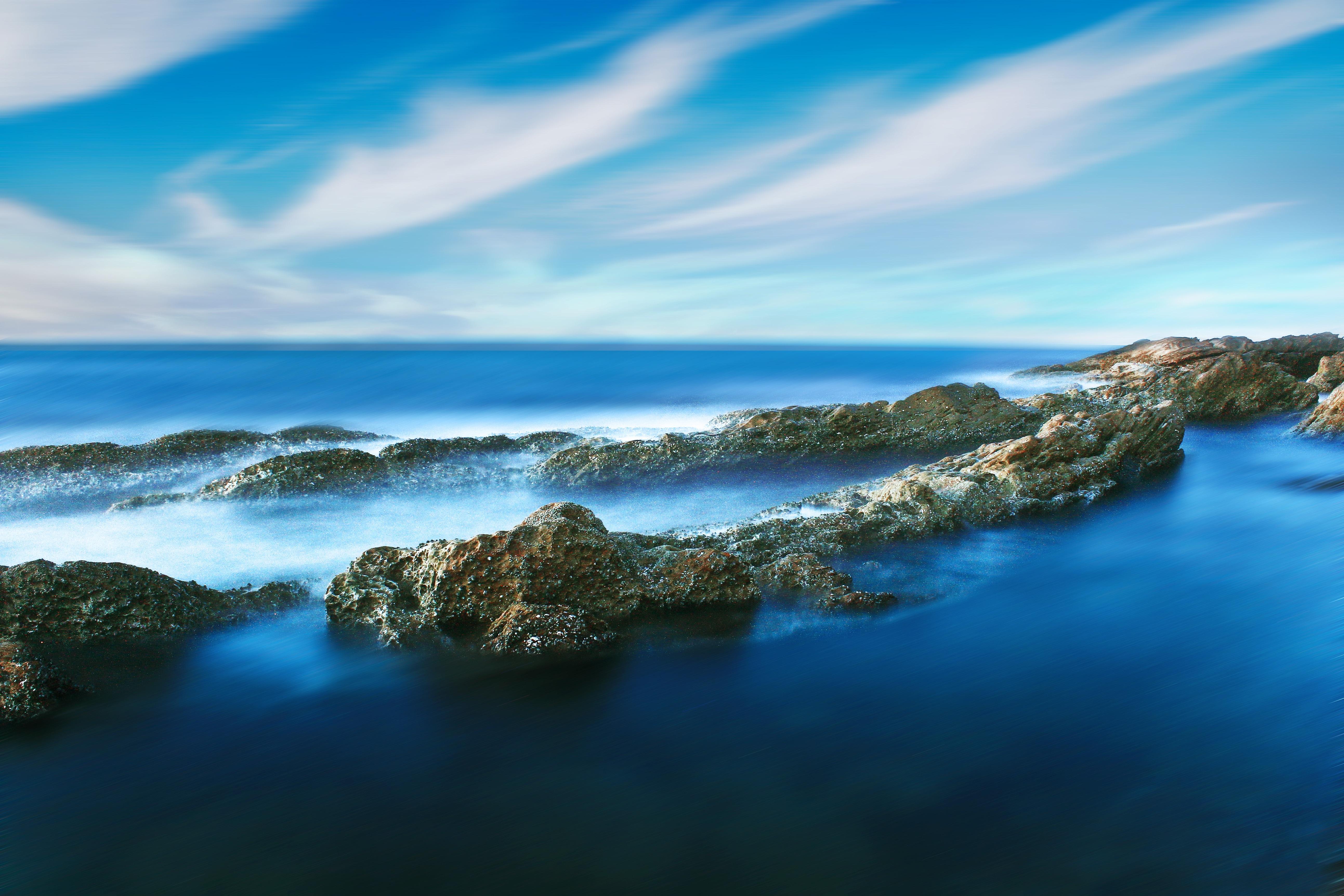 Wallpaper Pemandangan Tepi Pantai