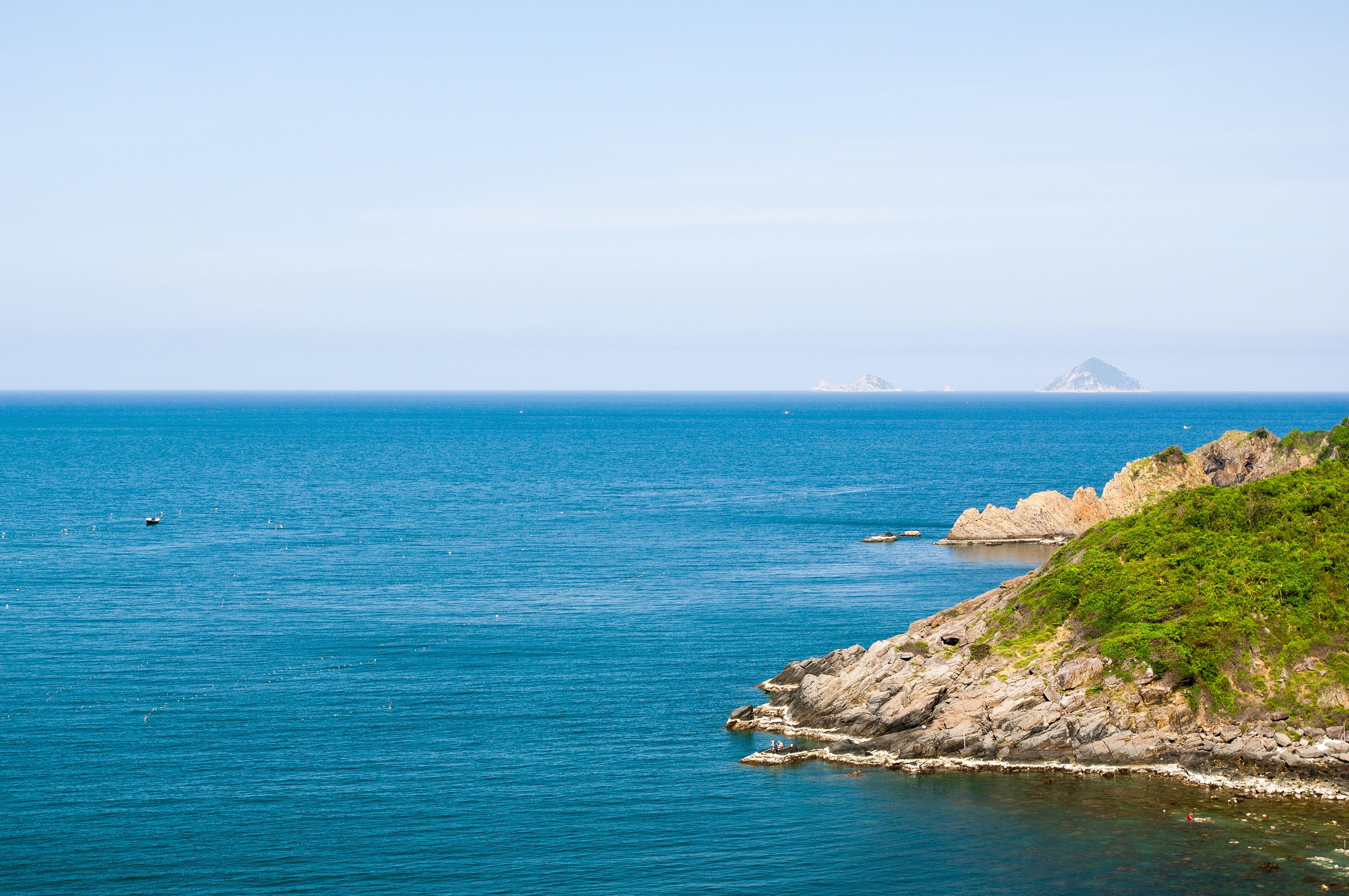 Free Images : beach, landscape, sea, coast, nature, ocean, horizon ...