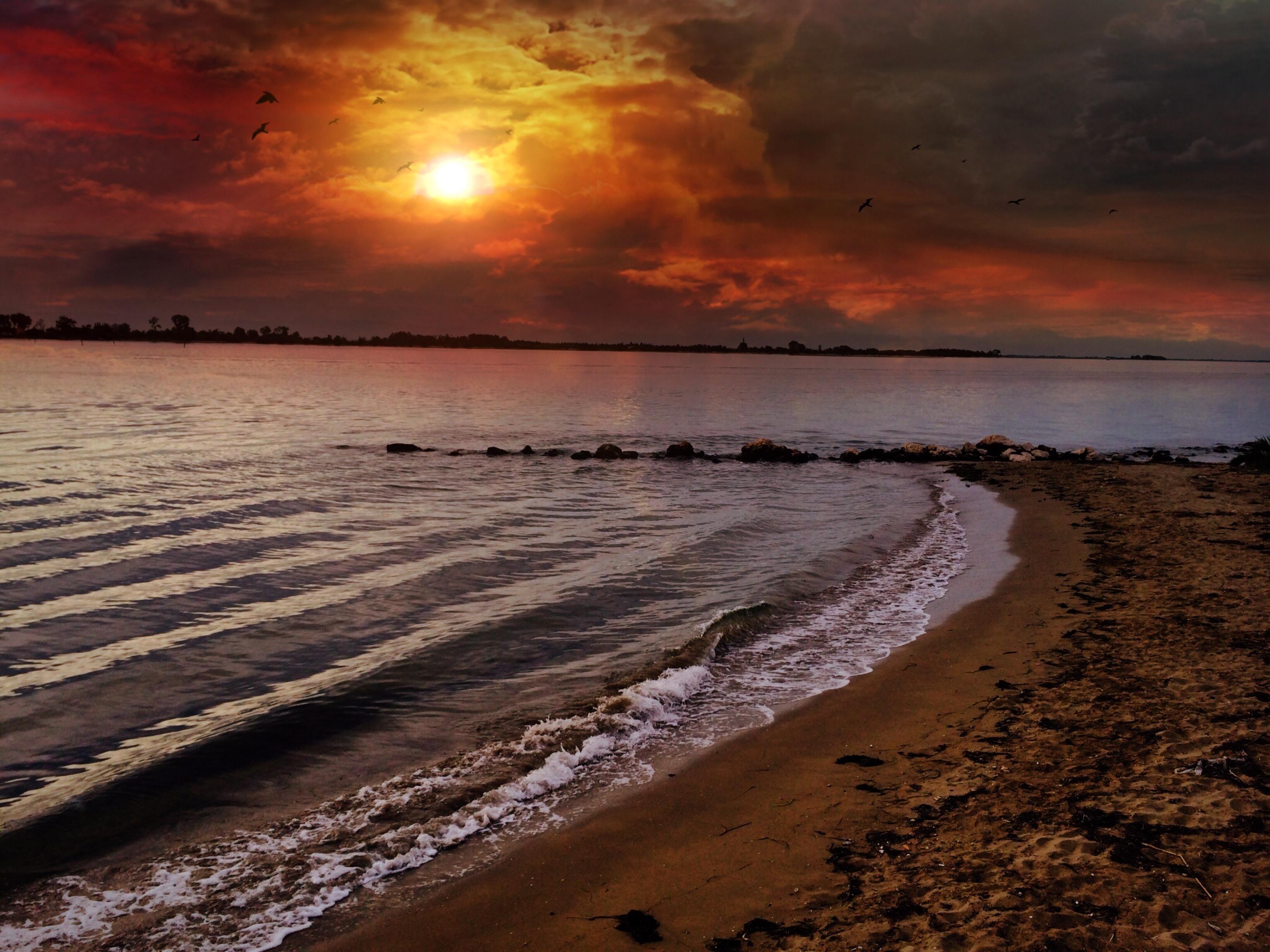 Gambar Pantai Pemandangan Laut Alam Pasir Batu Lautan