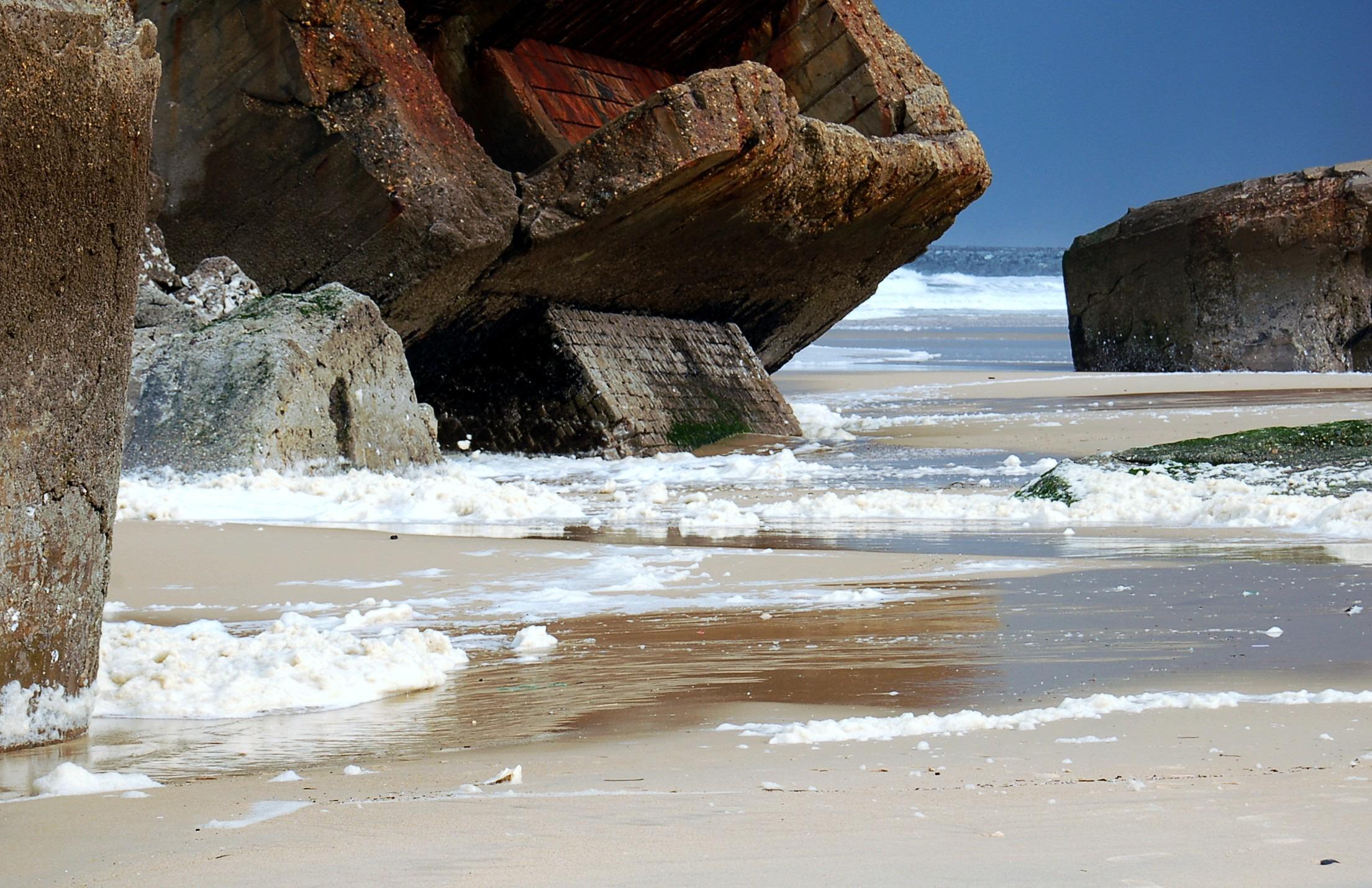 Отлив океана фото того