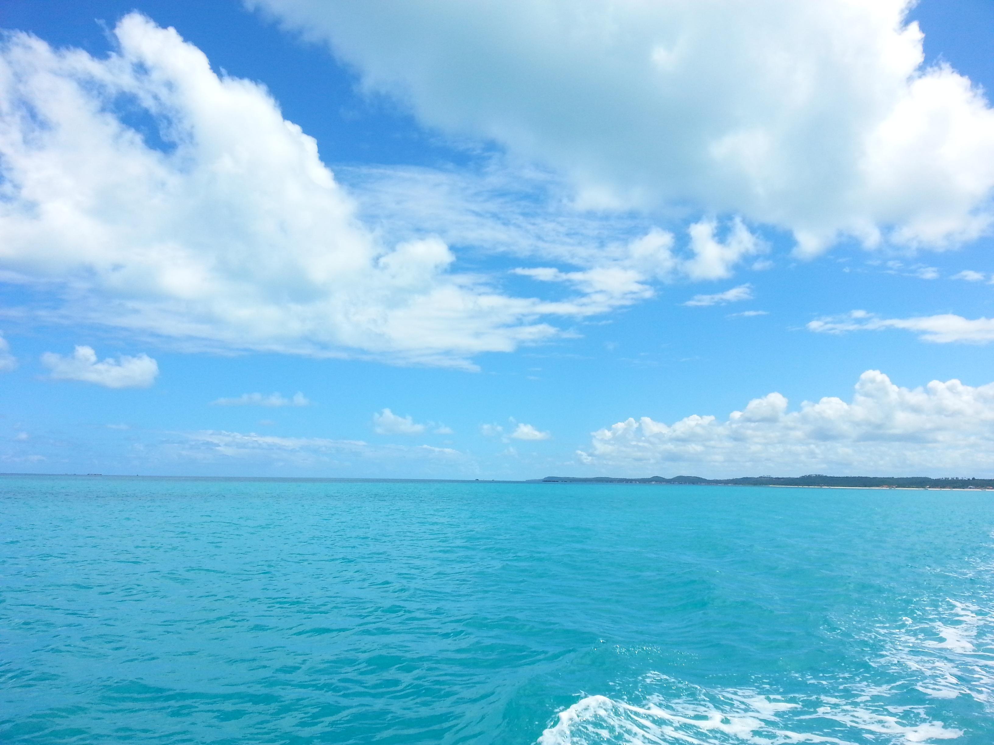 Gambar Pantai Pemandangan Laut Pasir Lautan Horison Awan
