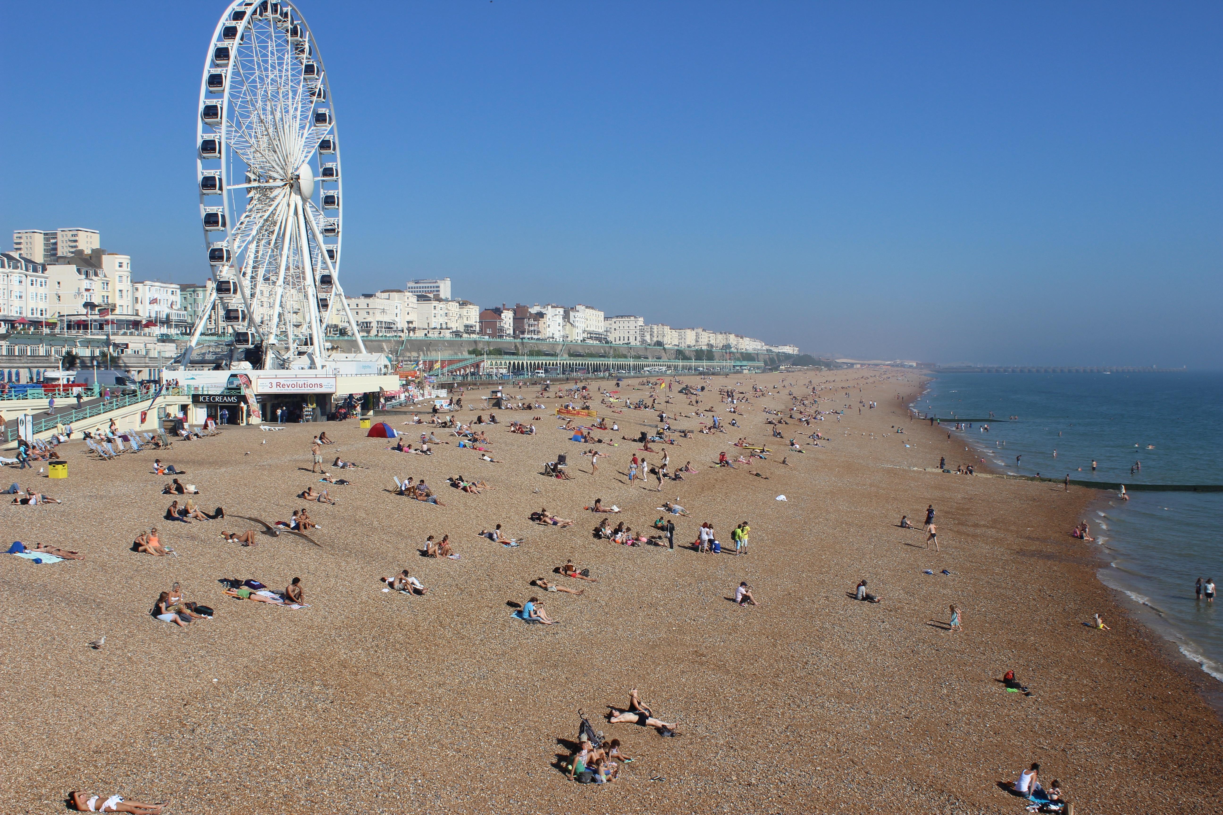 колесо обозрения прибрежье пляж скачать